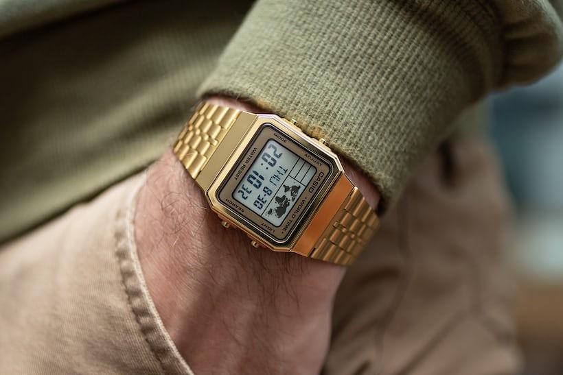 935c44335 The Casio A500WGA-9DF is casual, fun, and weightless on wrist.