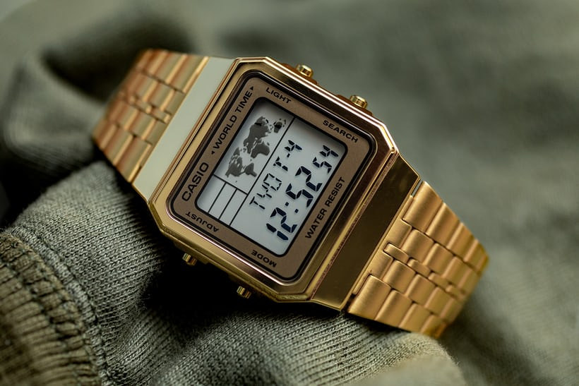 Hands-On: The 'Gold' Casio A500WGA-9DF World Timer - HODINKEE