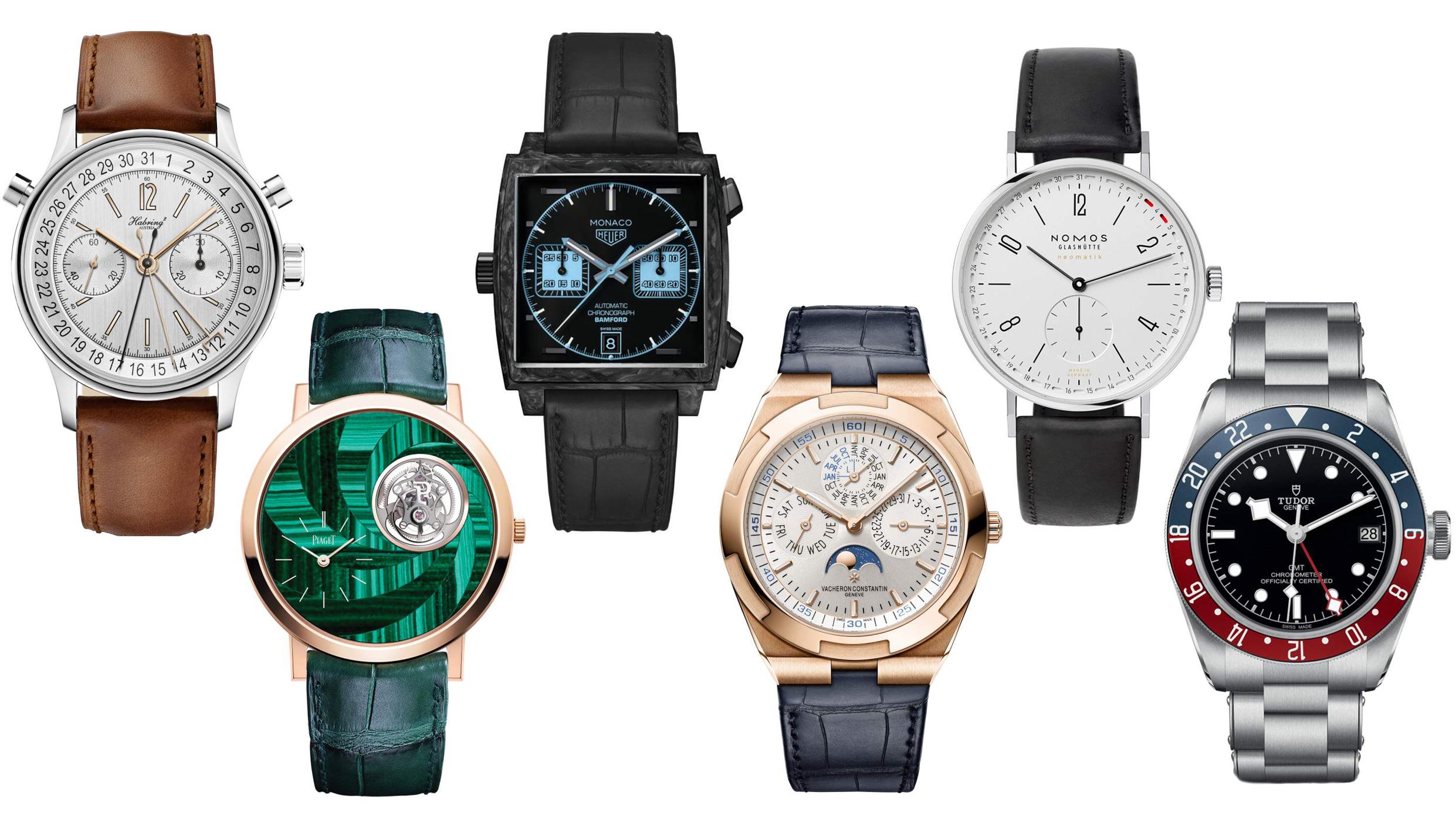 ジュネーブウォッチグランプリ2018のファイナリストの時計が発表されました!