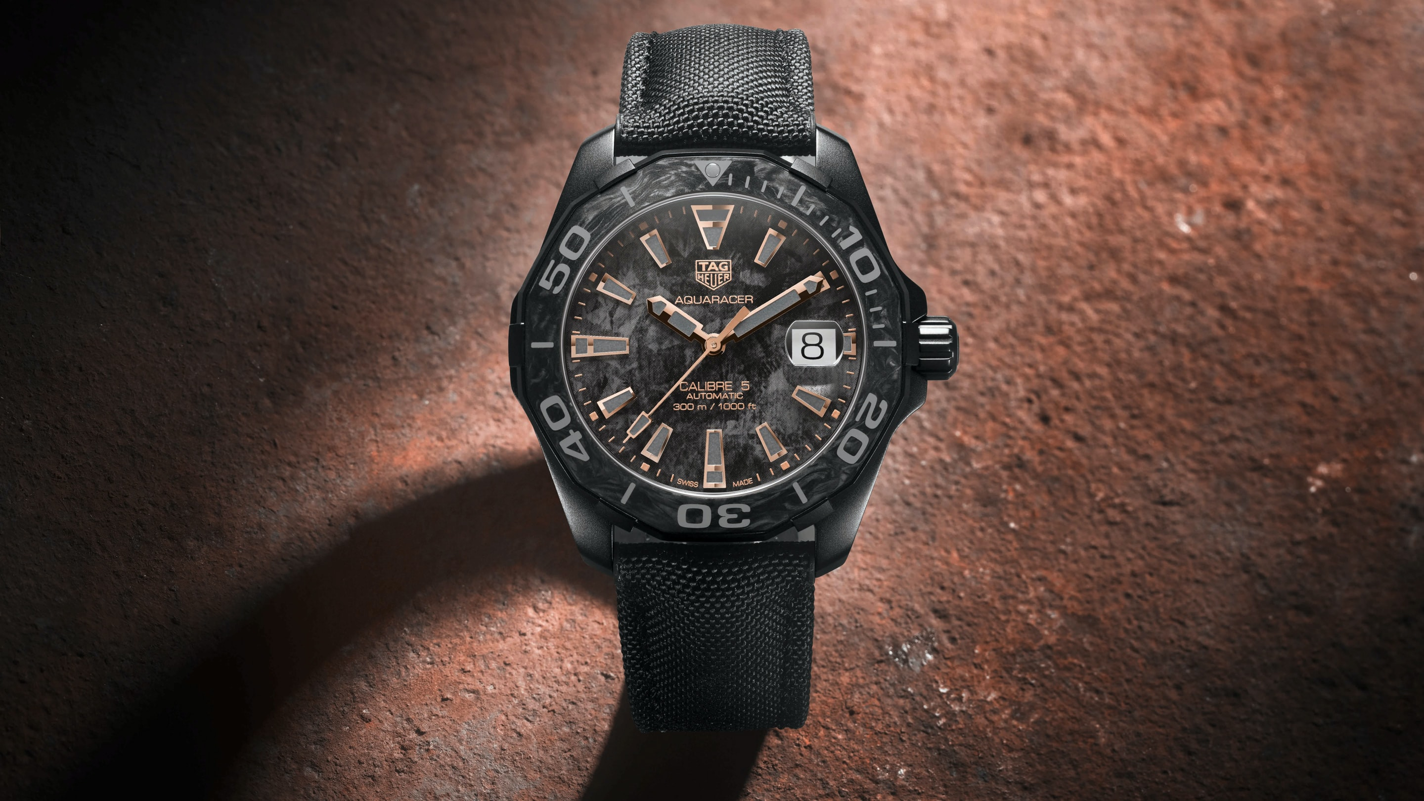Introducing: The TAG Heuer Carbon Aquaracer tag h1