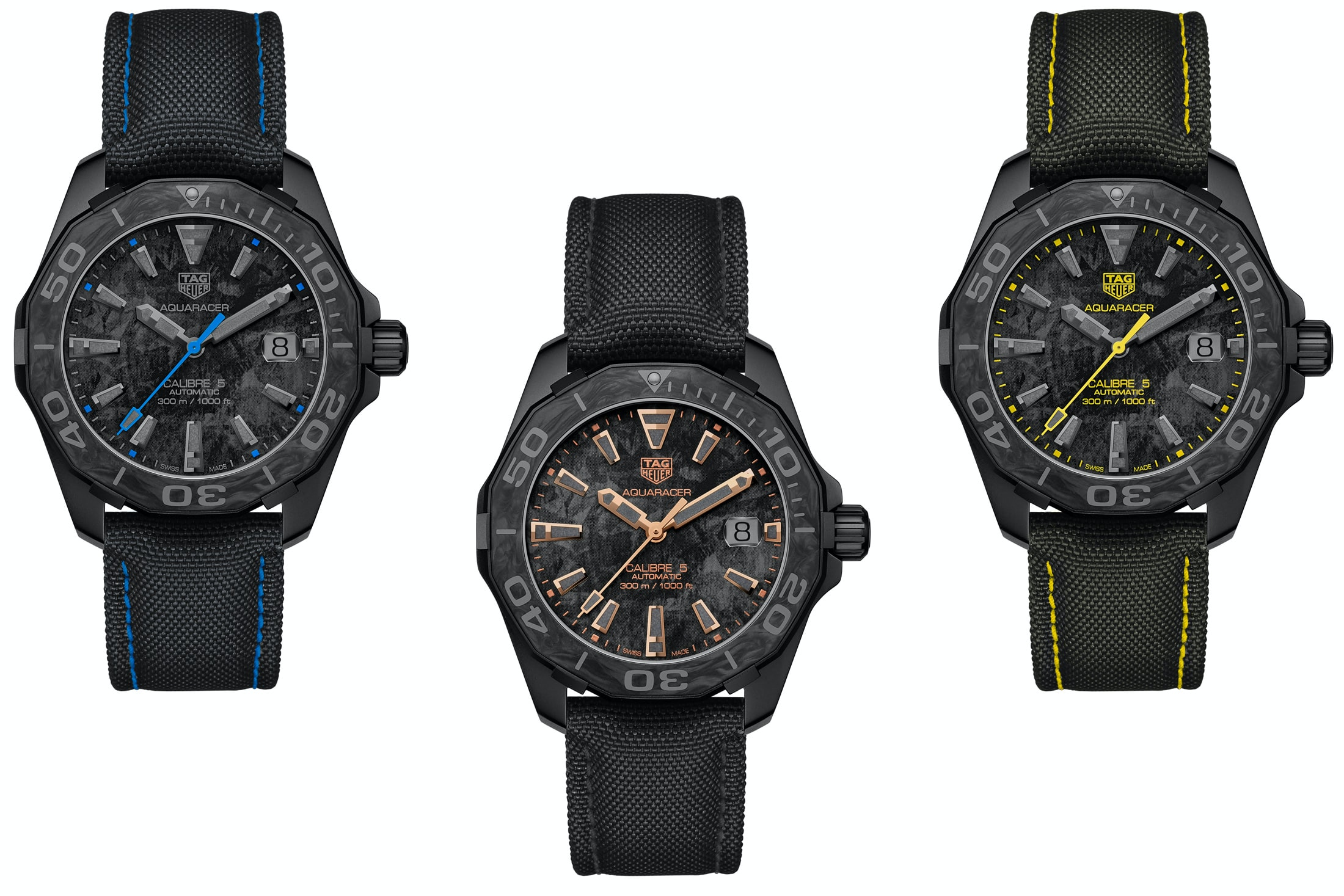 Introducing: The TAG Heuer Carbon Aquaracer tag 2