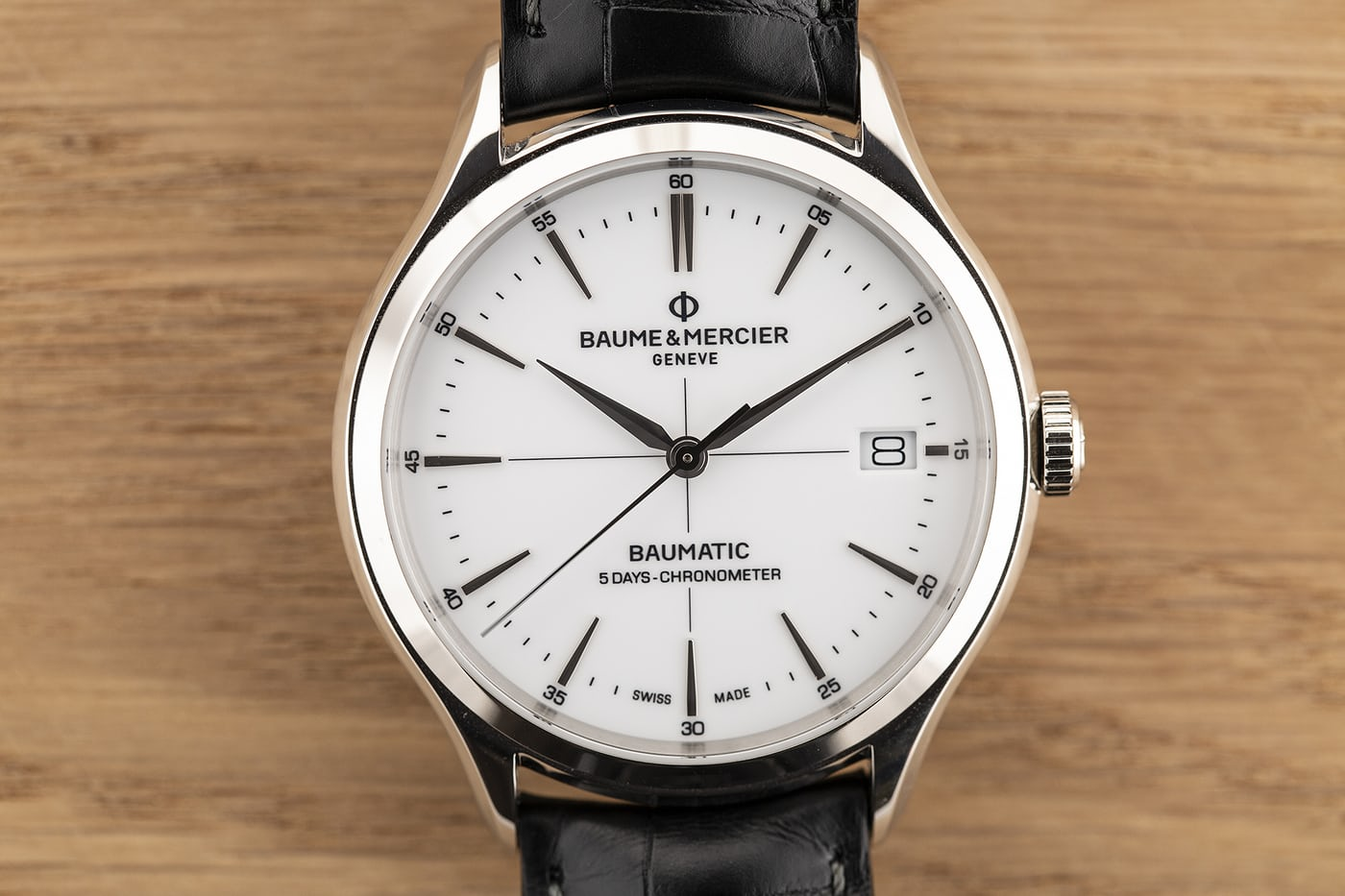 A Week On The Wrist The Baume & Mercier Clifton Baumatic COSC