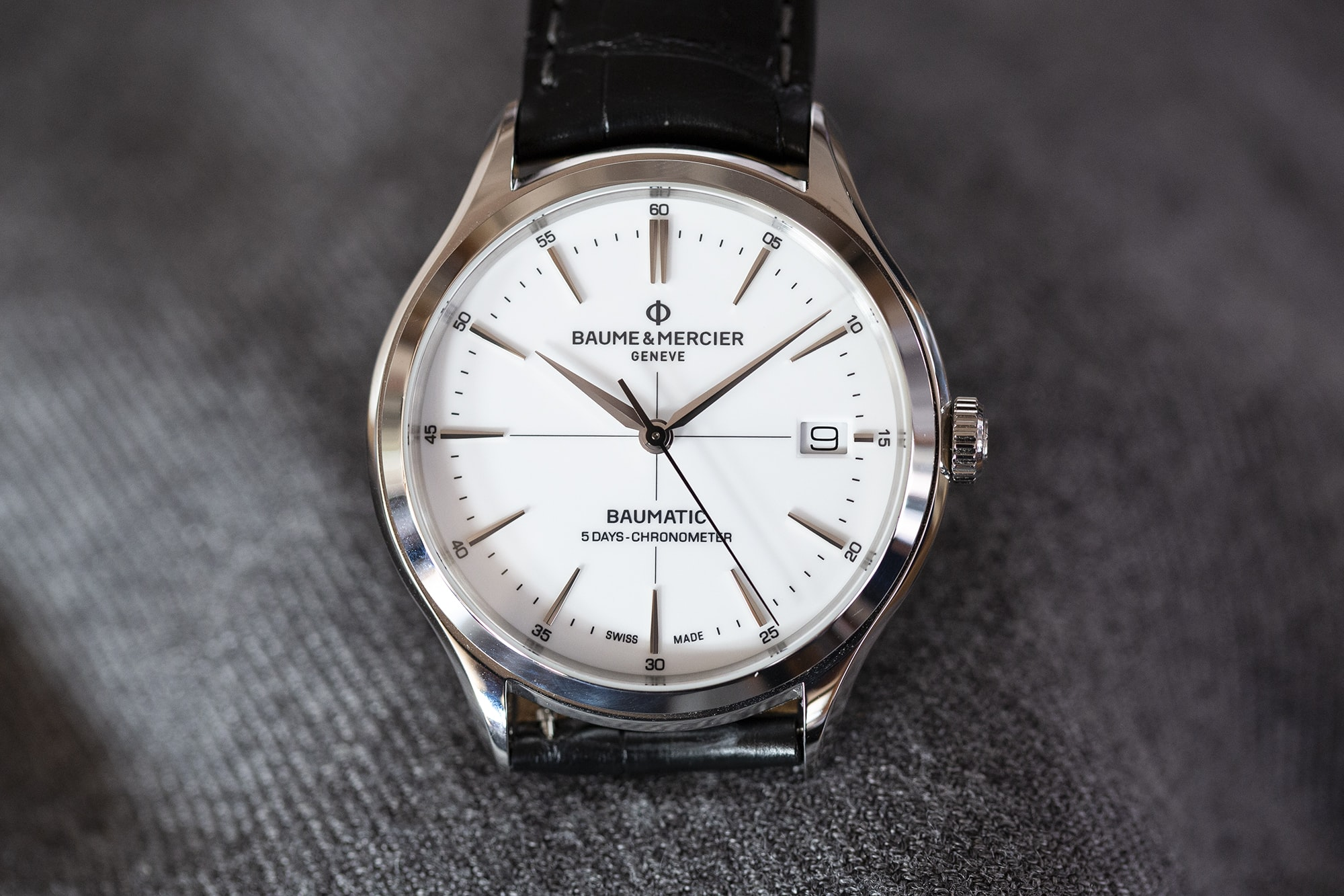 A Week On The Wrist: The Baume & Mercier Clifton Baumatic COSC  B89A9369