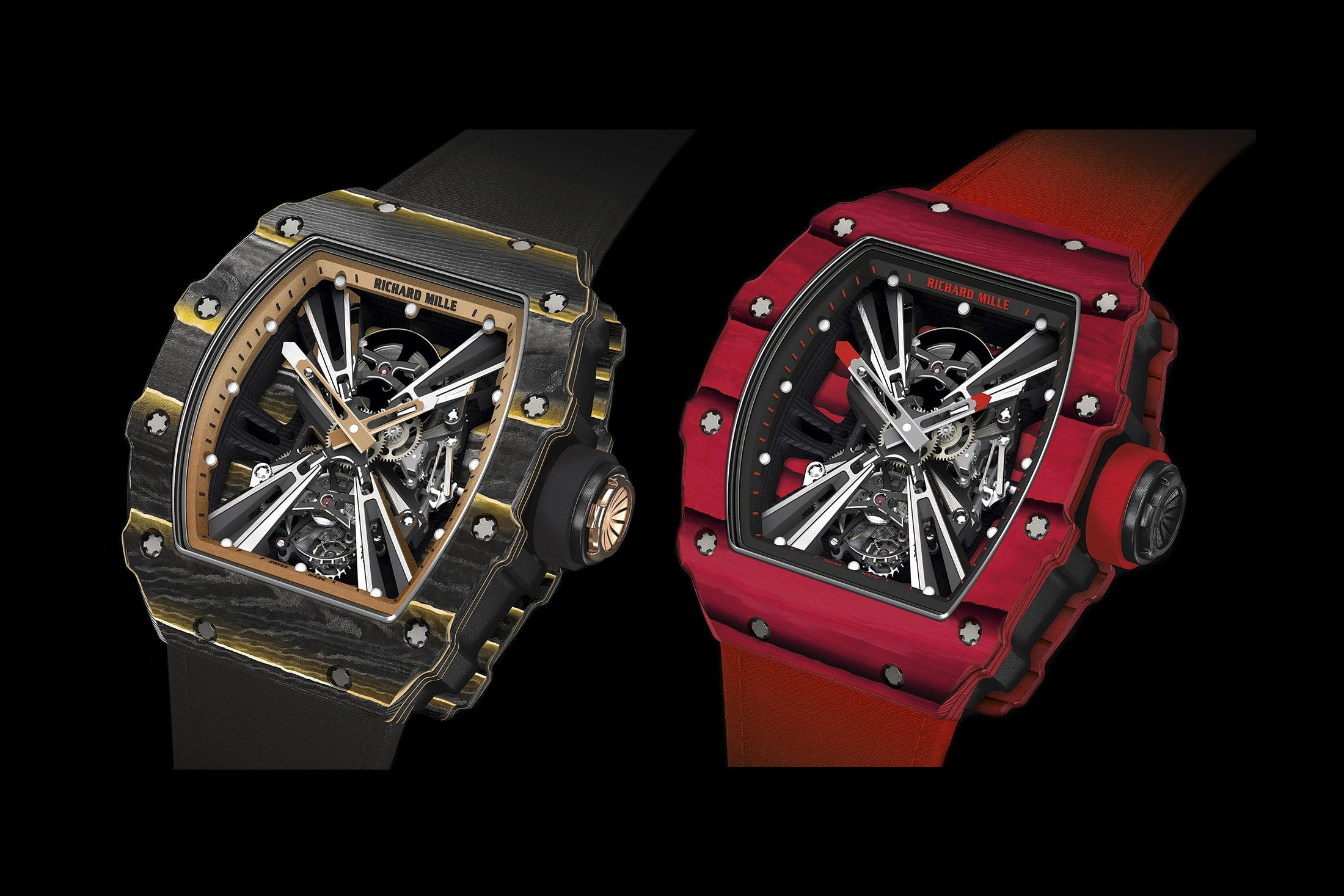 Introducing: The Richard Mille RM 12-01 Tourbillon RM 12 01 pair