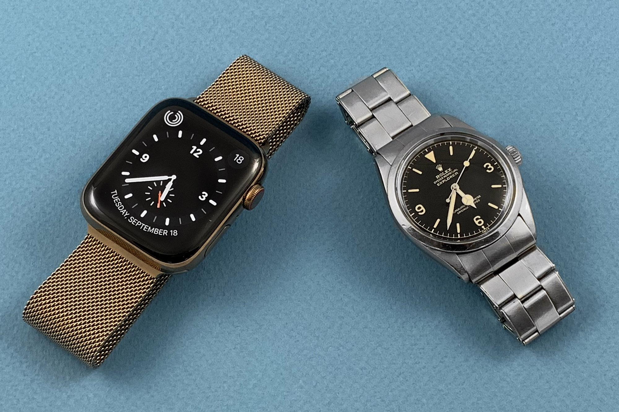AppleWatchSeries4-versus-VintageWatch