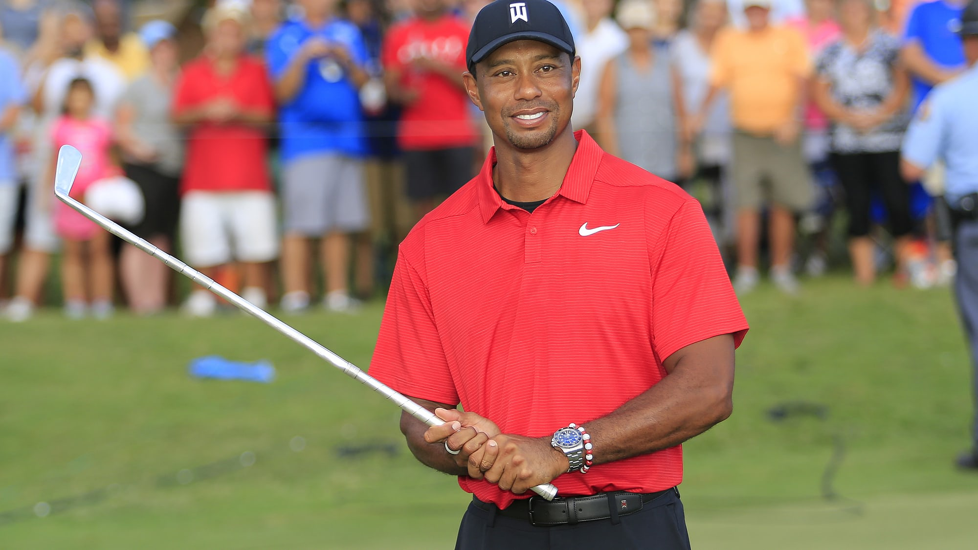 Watch Spotting: Tiger Woods Wins The 2018 PGA Tour Championship Wearing a Rolex Deepsea tiger hodinkee