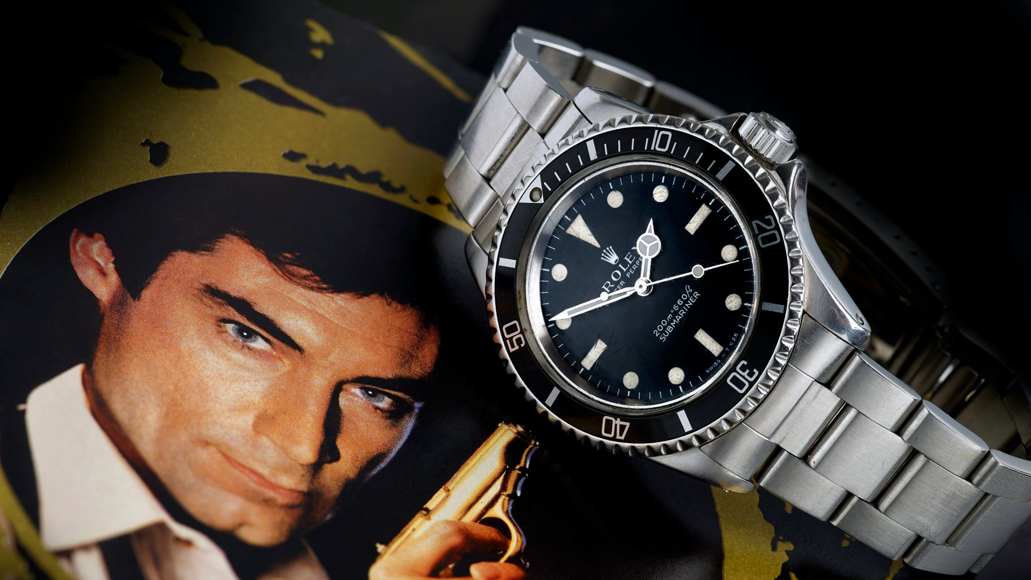 Found: James Bond's Rolex Submariner From 'A Licence To Kill' Is Up For Auction bond h