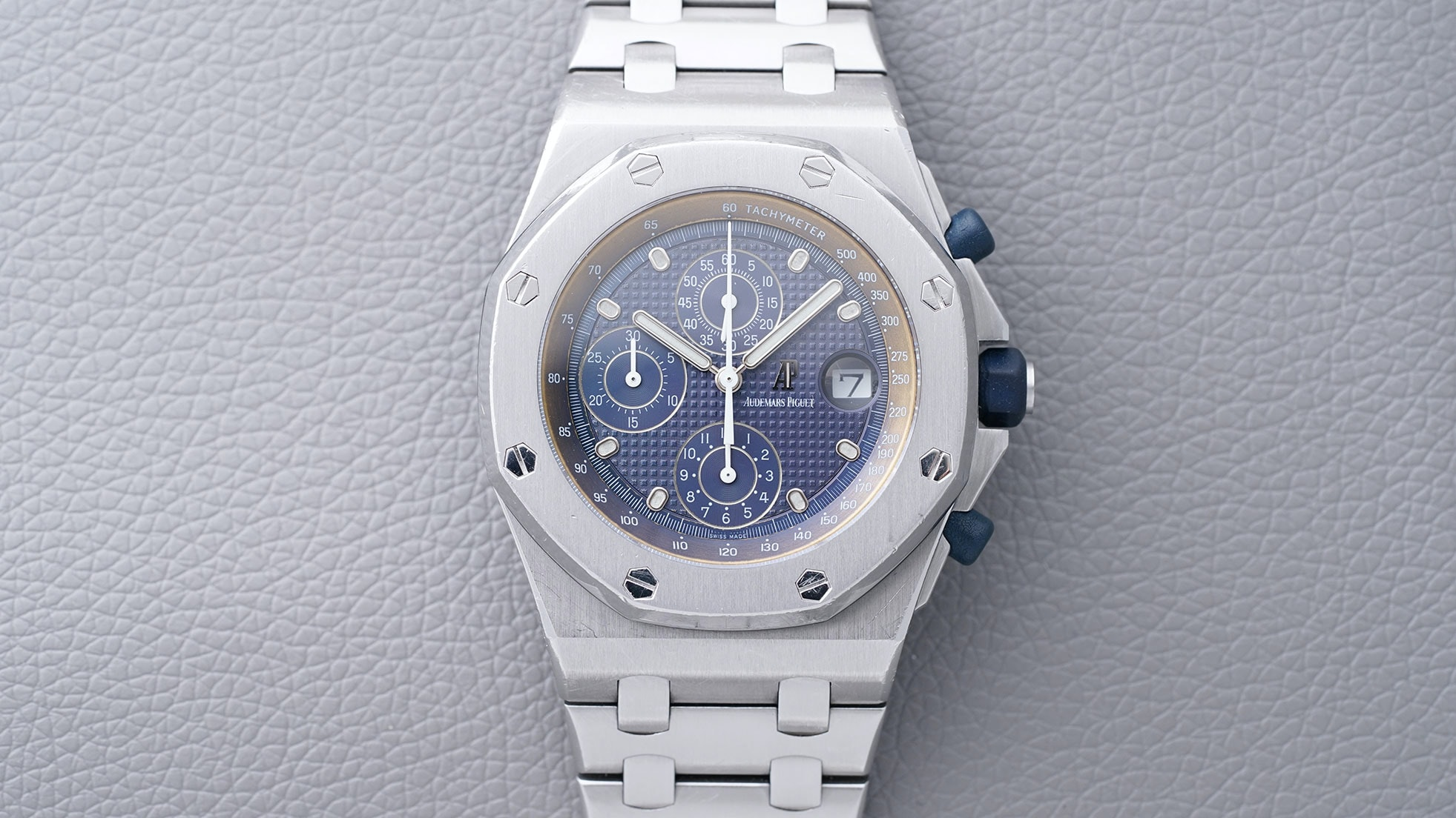 Auction Report: Phillips Is Selling An Original Audemars Piguet Royal Oak Offshore Owned By The Man Who Designed It