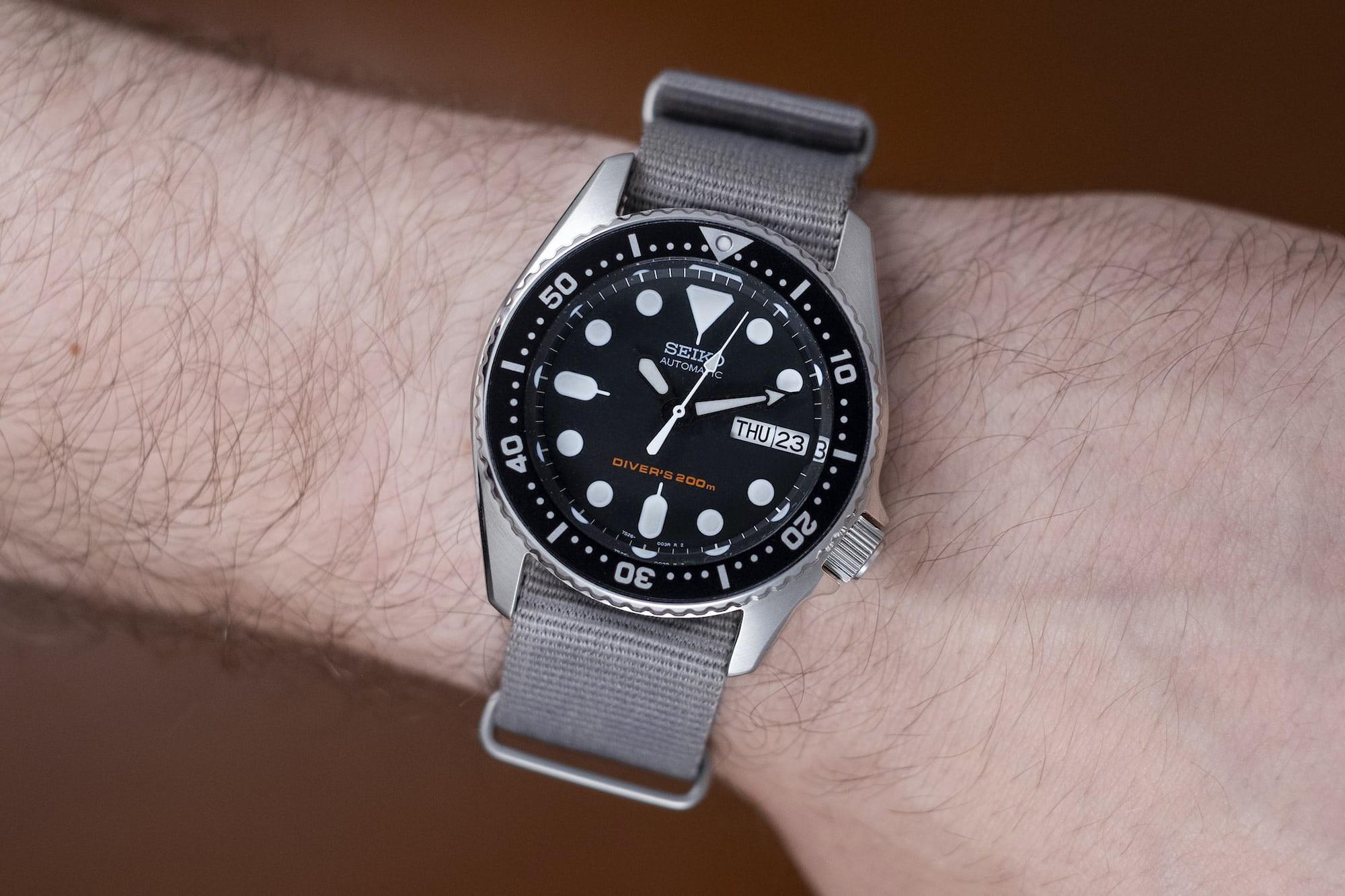 The Value Proposition: The Seiko SKX013 Dive Watch DSCF9152
