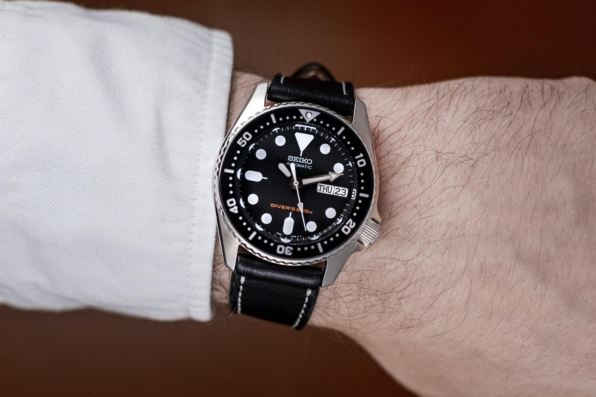 The Value Proposition: The Seiko SKX013 Dive Watch DSCF9143