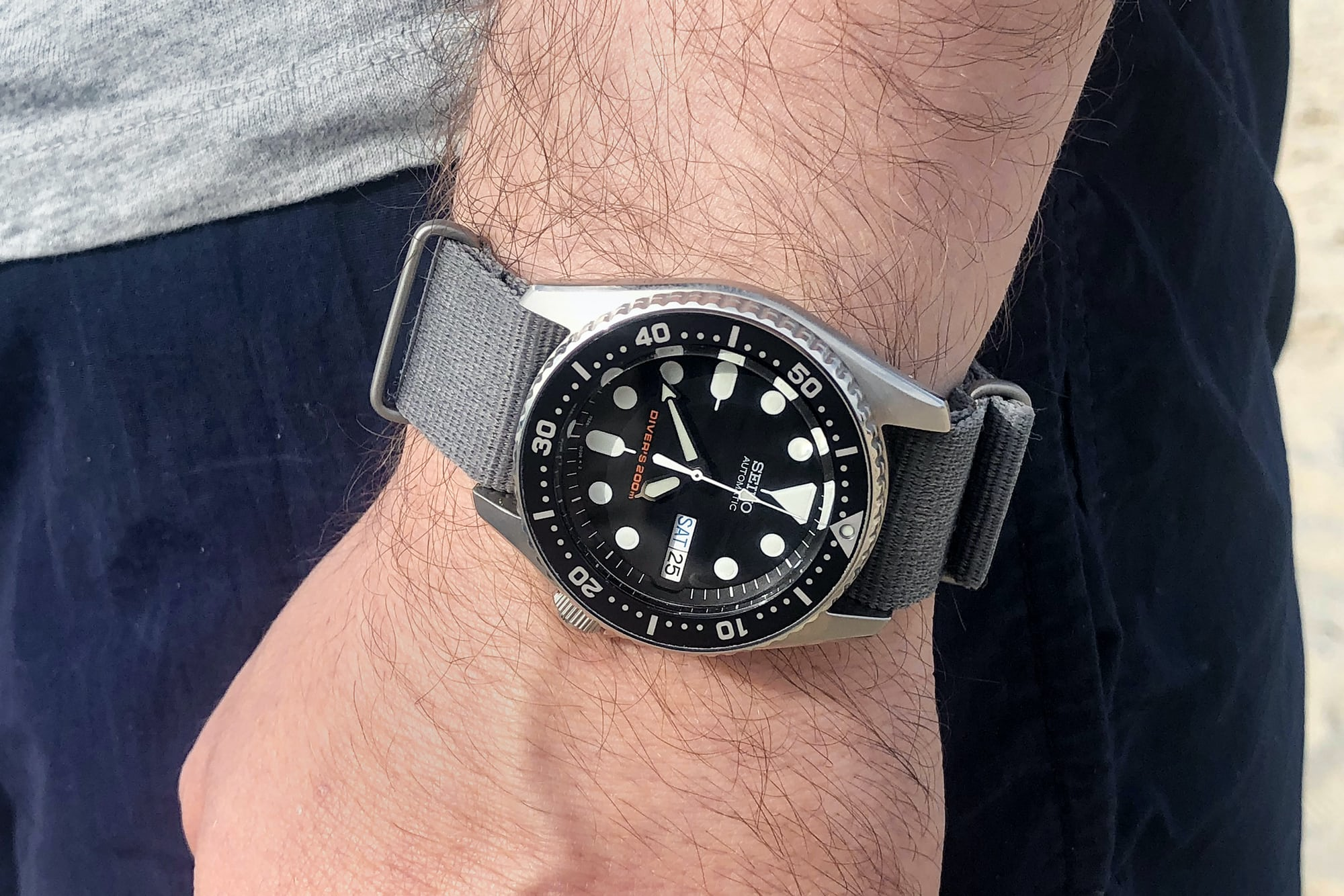 The Value Proposition: The Seiko SKX013 Dive Watch IMG 4644