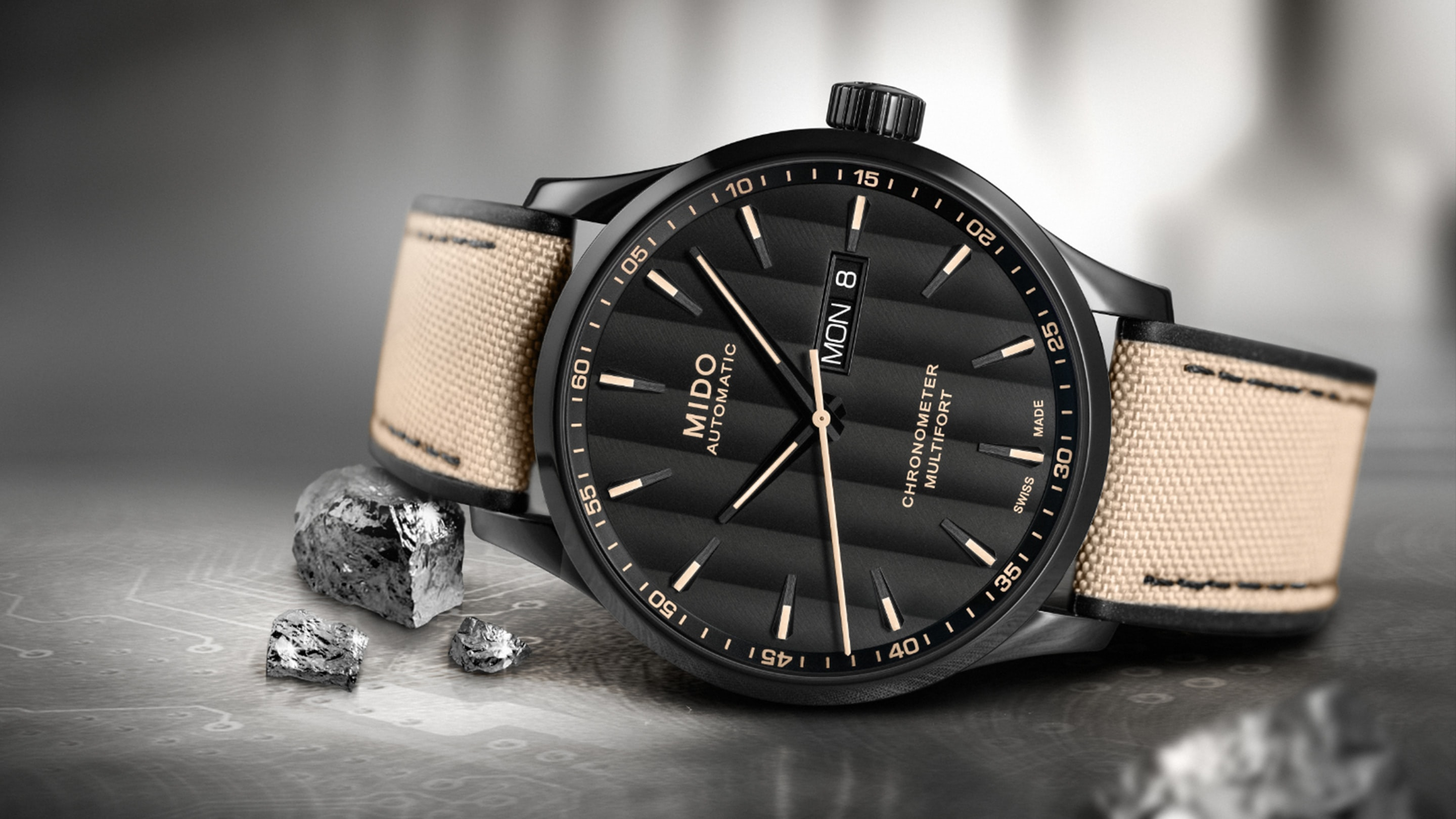 Introducing: The Mido Multifort Chronometer Mido COSC Hero