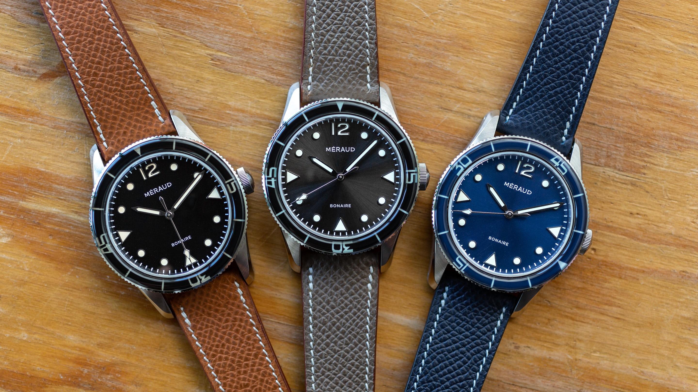 26173d551 Hands-On: The Méraud Bonaire Diver - HODINKEE