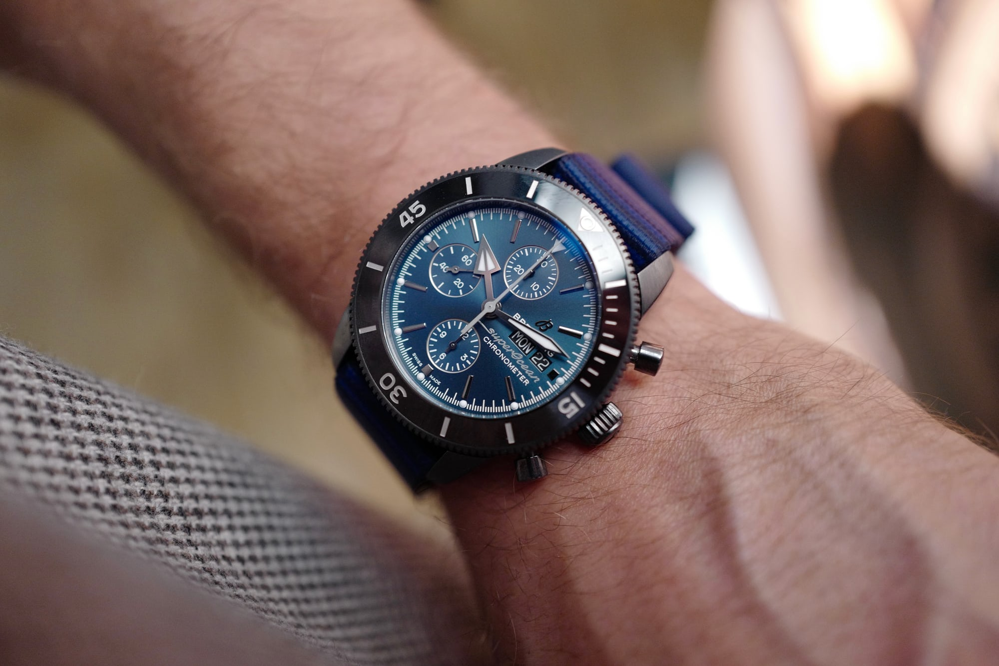 Introducing: The Breitling Superocean Héritage II Chronograph 44 Outerknown L1090051