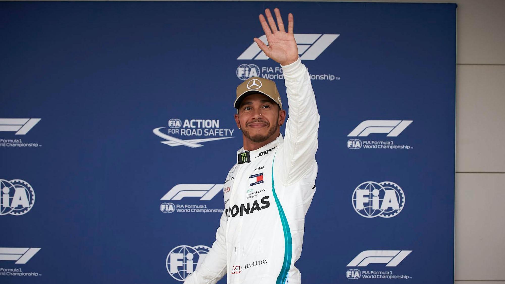 Watch Spotting: Lewis Hamilton Wears An IWC Big Pilots Perpetual Calendar QP Boutique Edition Ahead Of U.S. Grand Prix 1