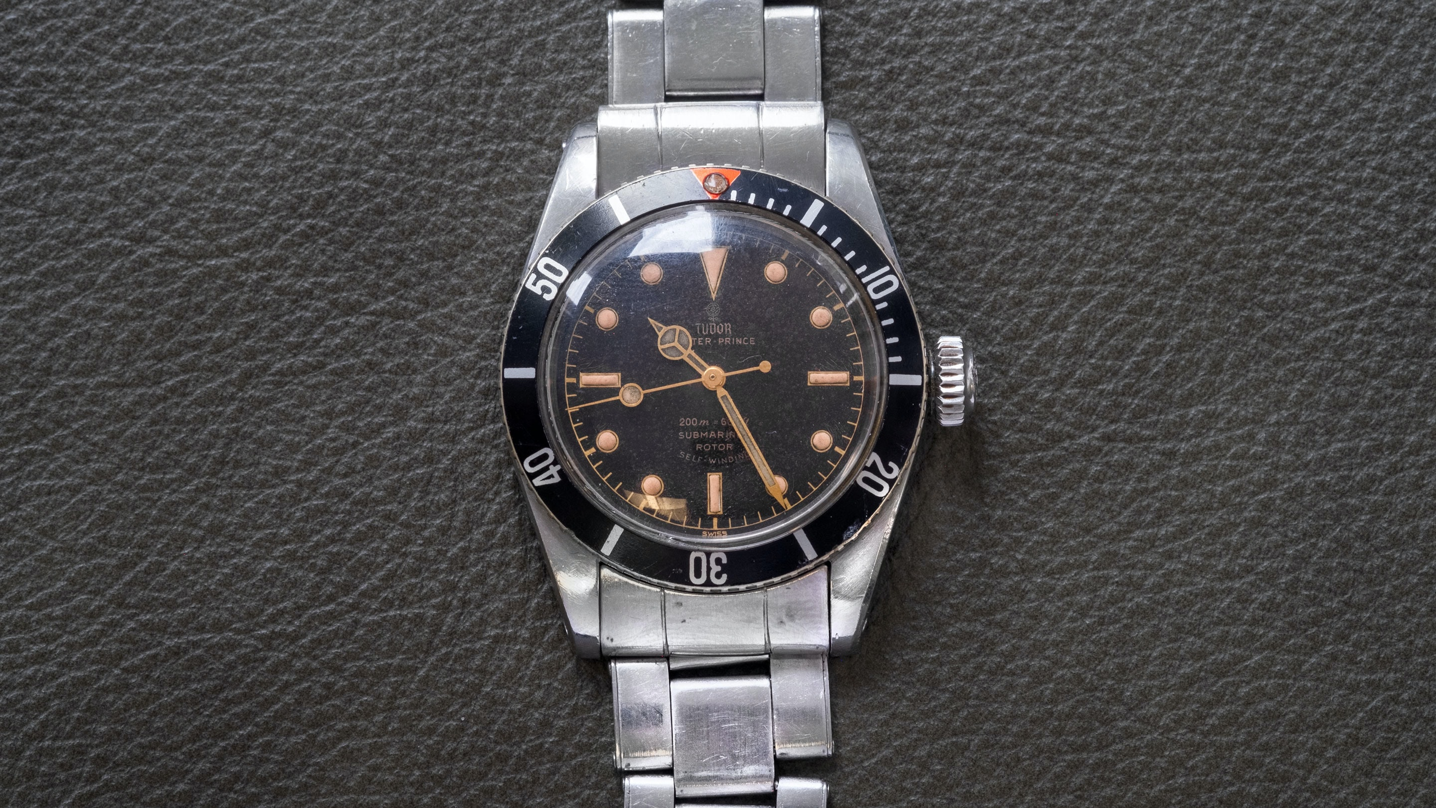 Breaking News: Tudor Big Crown Submariner Sells For $162,500, Becoming The World's Most Expensive Vintage Tudor tudor