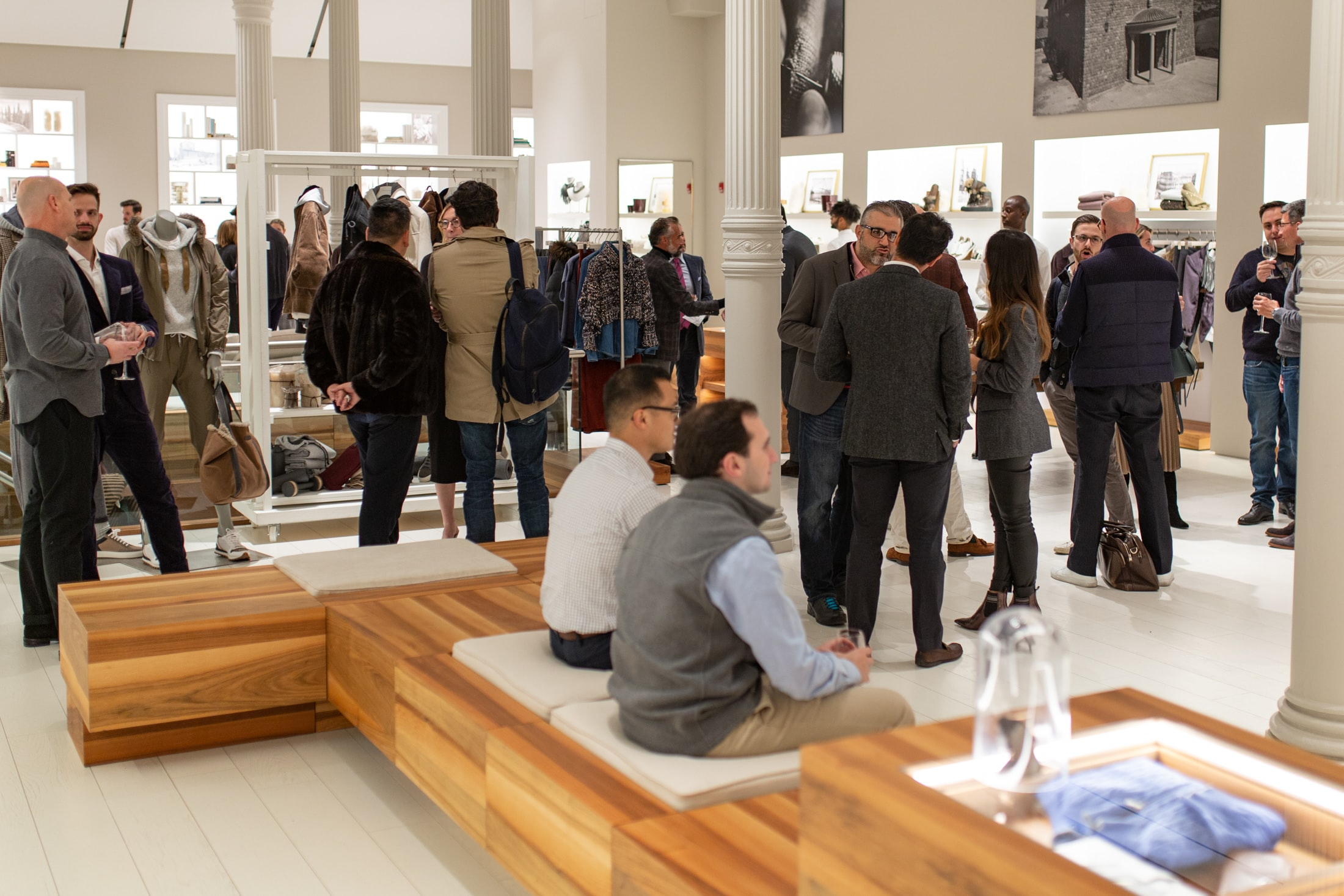 Photo Report: An Evening With Brunello Cucinelli In New York City 20010590