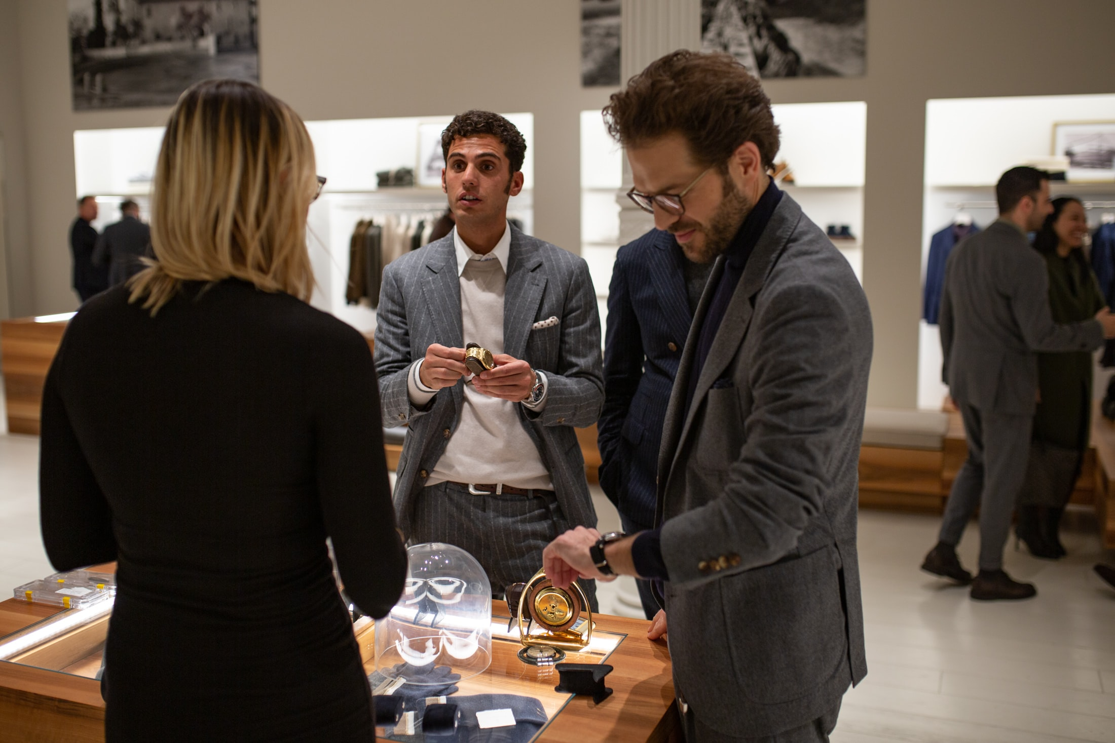 Photo Report: An Evening With Brunello Cucinelli In New York City 20010684