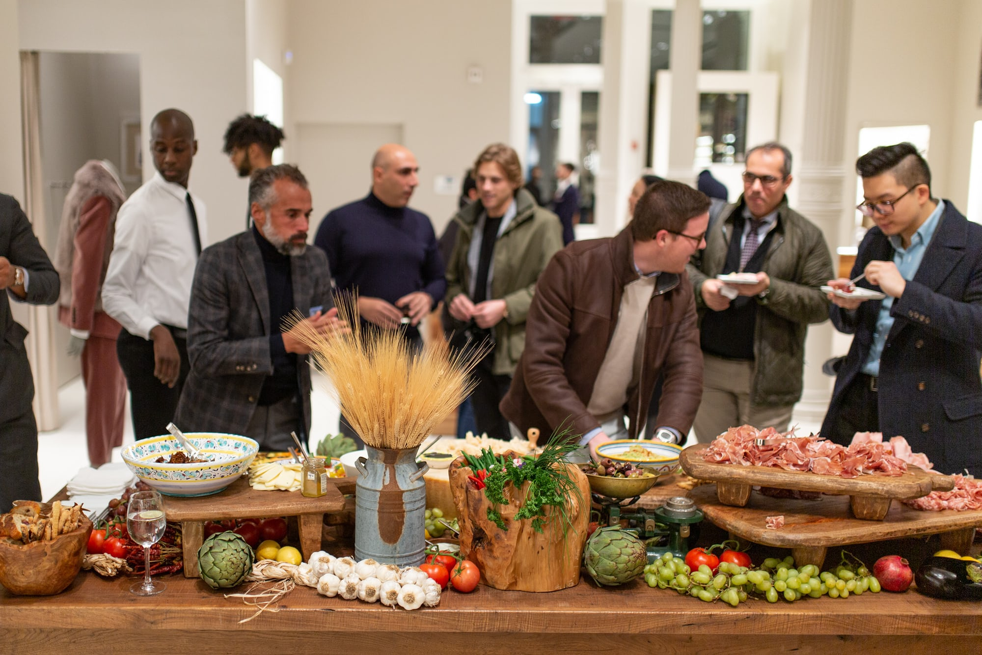 Photo Report: An Evening With Brunello Cucinelli In New York City 20010653