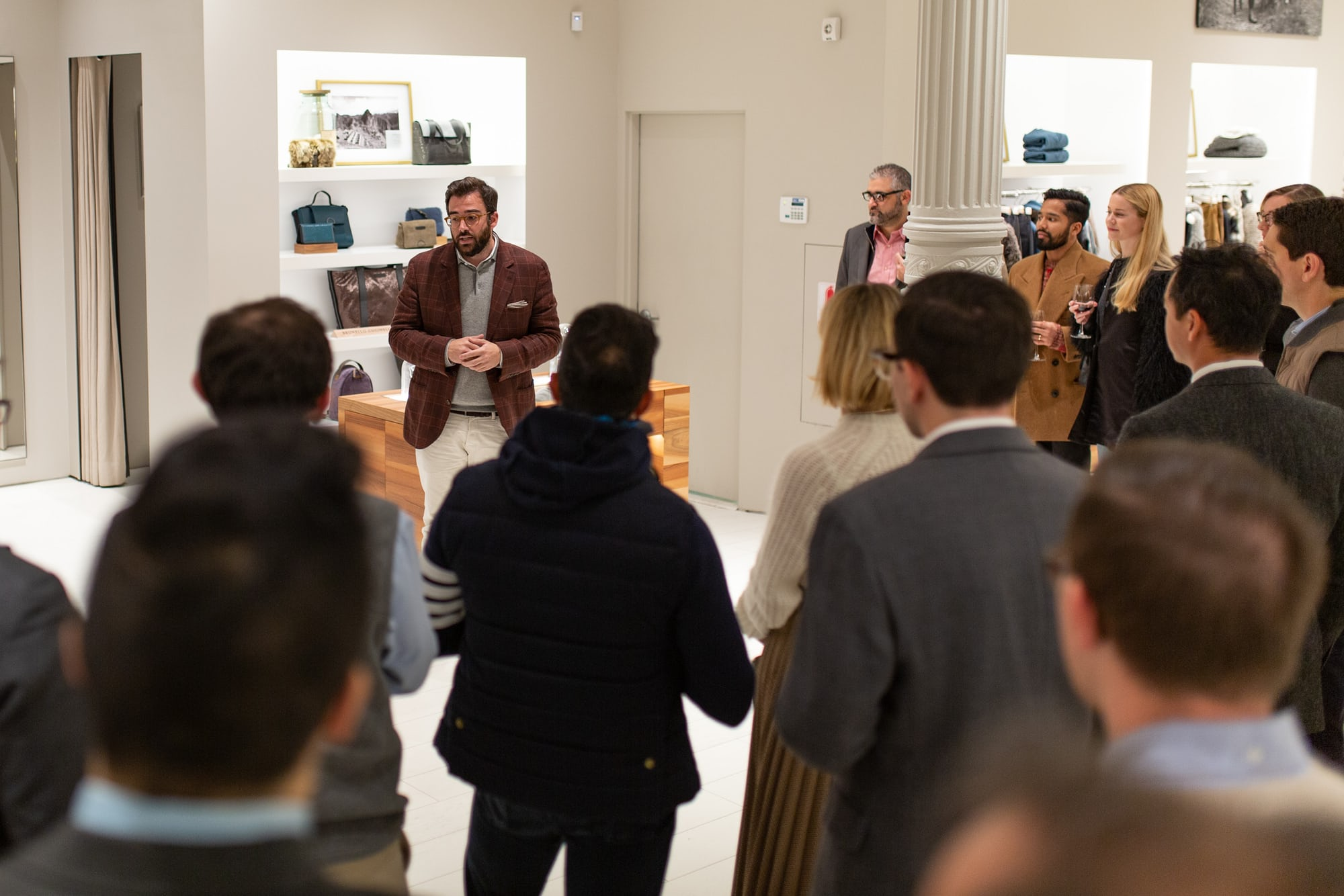 Photo Report: An Evening With Brunello Cucinelli In New York City 20010604