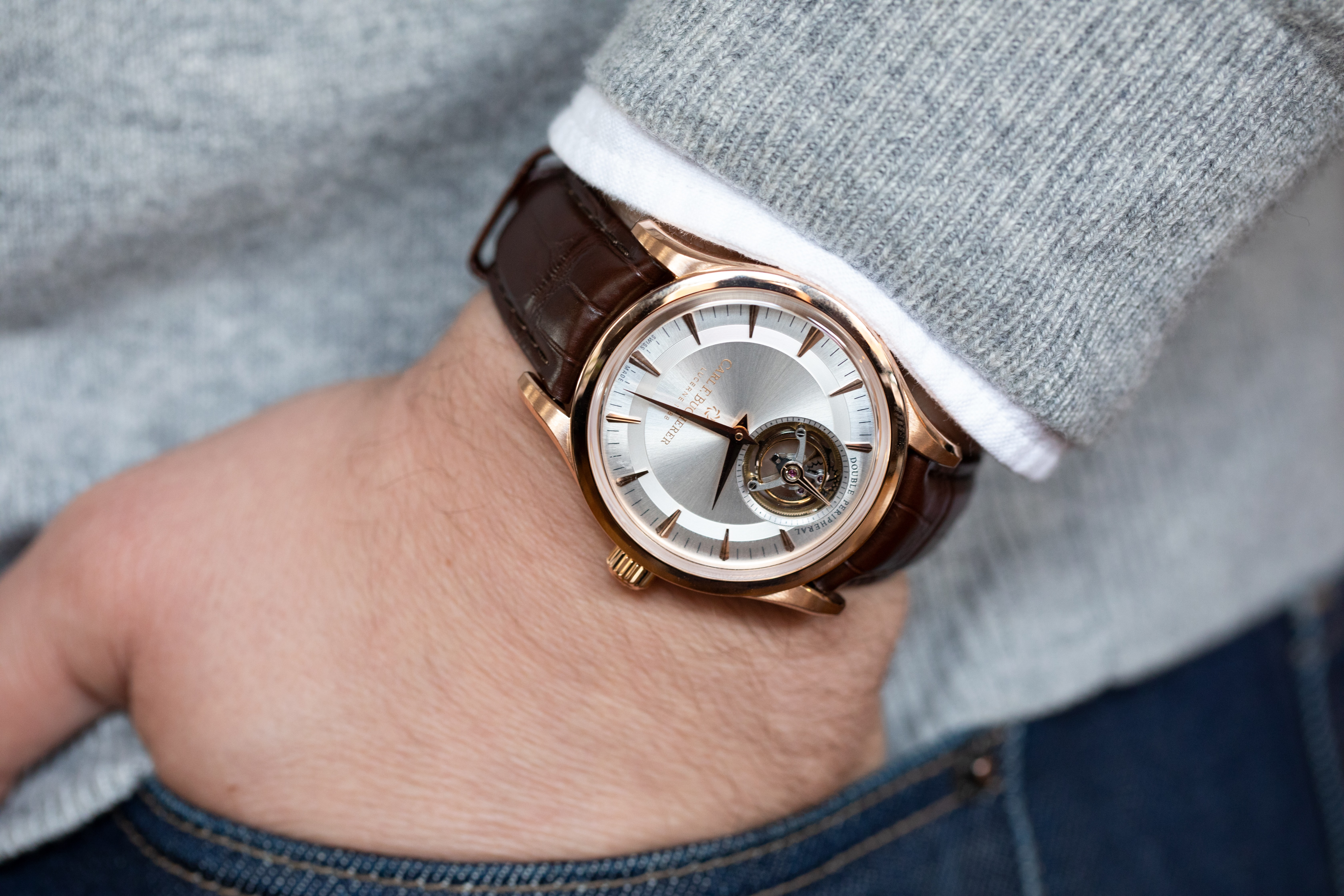 Hands-On: The Carl F. Bucherer Heritage Tourbillon Double Peripheral Limited Edition 729A0760
