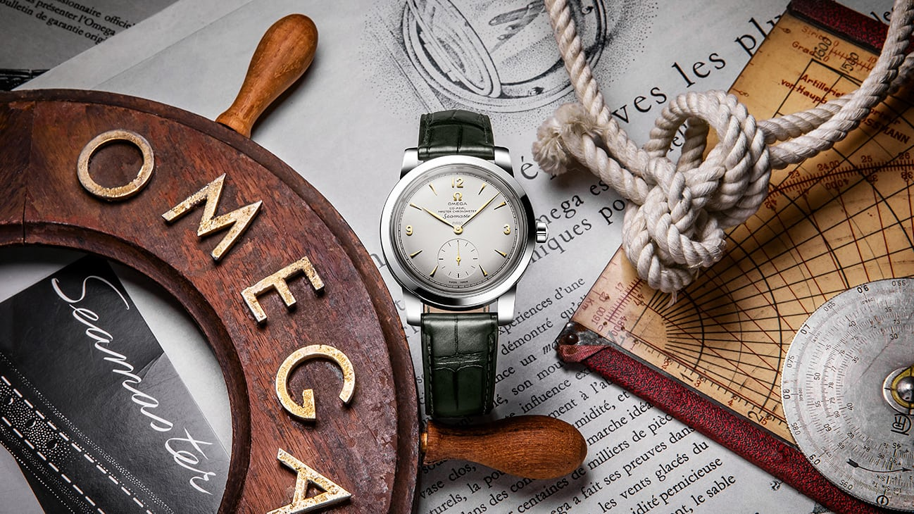 0abb5d1d52b Introducing  The Omega 1948 Seamaster Platinum Limited Editions - HODINKEE