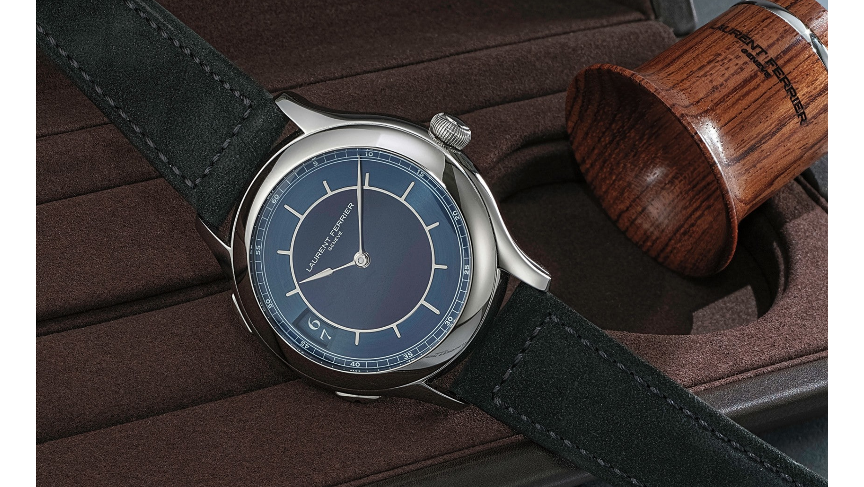 In The Shop – A Laurent Ferrier Traveller Limited Edition For HODINKEE Sold For 18% Above Retail At The Phillips Geneva Watch Auction: Eight Laurent Ferrier