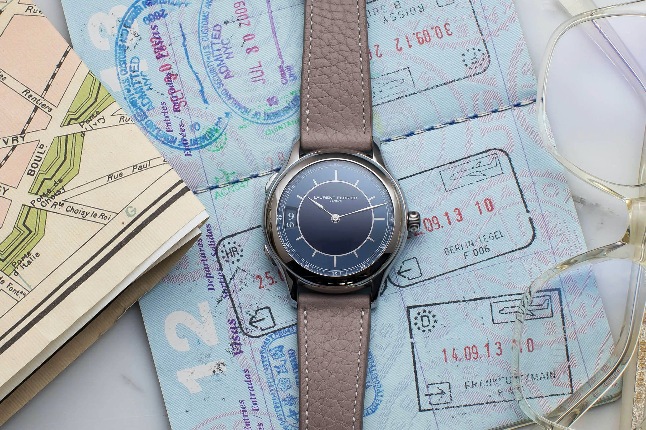 In The Shop – A Laurent Ferrier Traveller Limited Edition For HODINKEE Sold For 18% Above Retail At The Phillips Geneva Watch Auction: Eight hodinkee 050