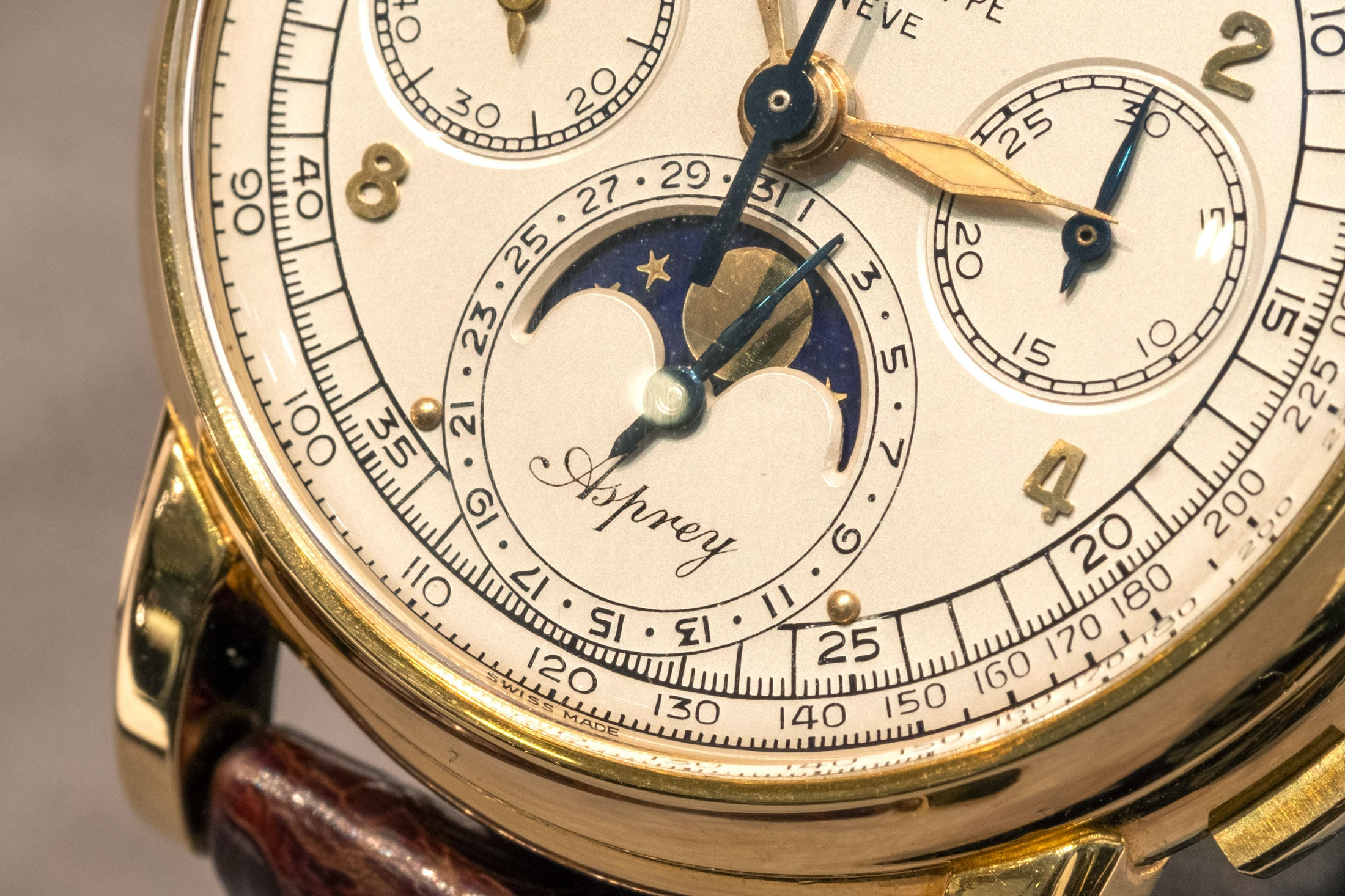Breaking News: The Only Known Asprey-Signed Patek Philippe Ref. 2499 Sells For $3.88 Million At Sotheby's, Setting A New World Record sothebys 02