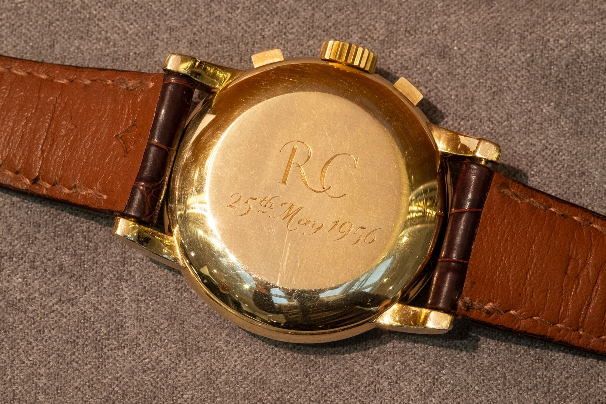 Breaking News: The Only Known Asprey-Signed Patek Philippe Ref. 2499 Sells For $3.88 Million At Sotheby's, Setting A New World Record sothebys 01
