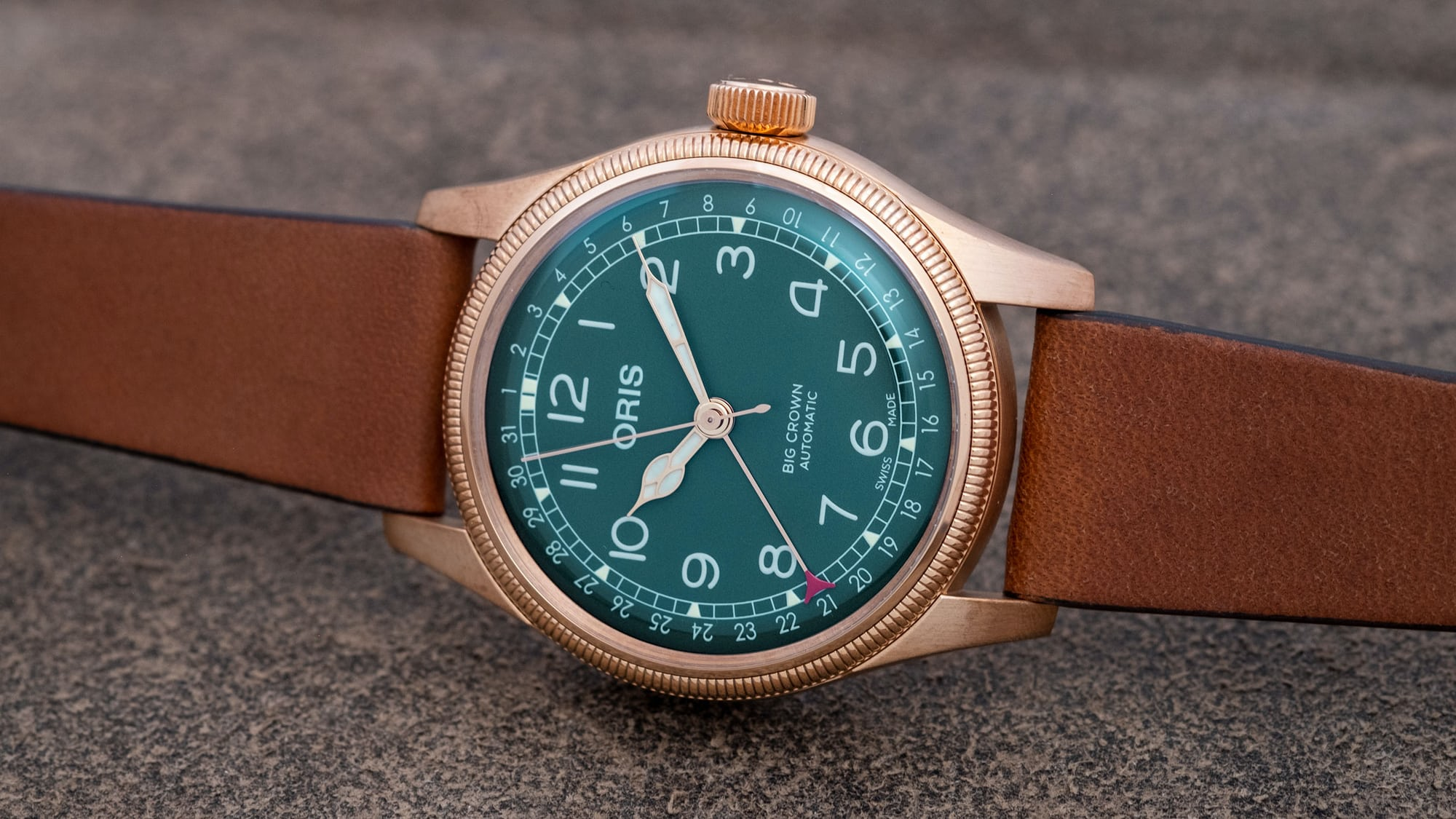 Introducing: The Oris Big Crown Pointer Date 80th Anniversary Edition (Live Pics & Pricing) H DSCF0233