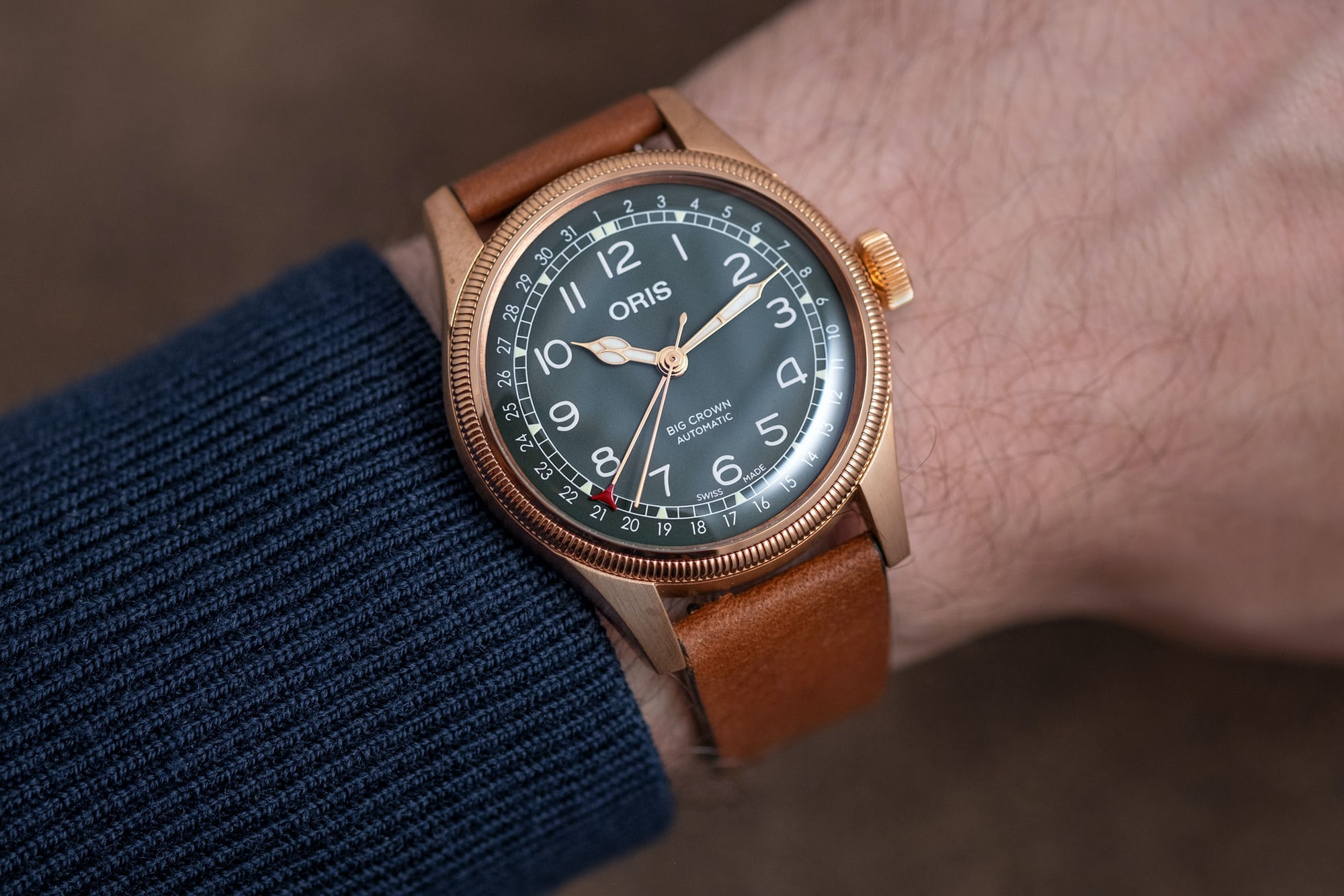 Introducing: The Oris Big Crown Pointer Date 80th Anniversary Edition (Live Pics & Pricing) DSCF0242