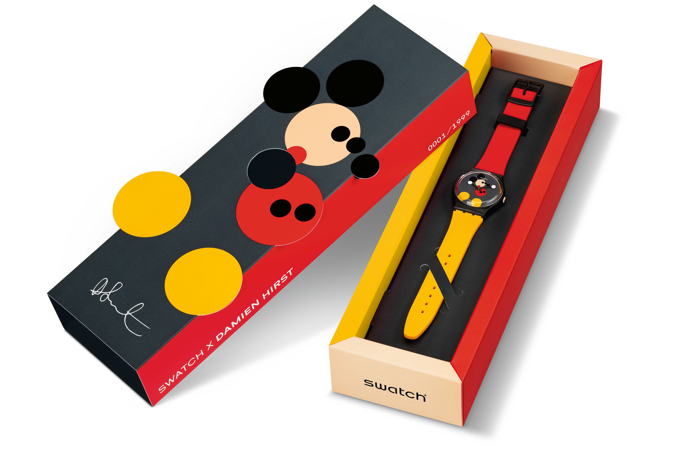Introducing: The Swatch Spot Mickey And Mirror Spot Mickey