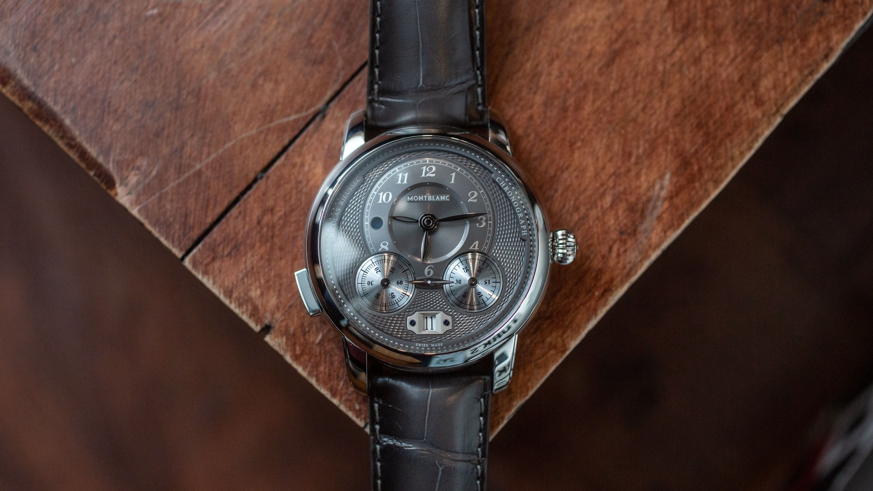Introducing: The Montblanc Star Legacy Nicolas Rieussec Chronograph With Anthracite Dial (Live Pics & Pricing)