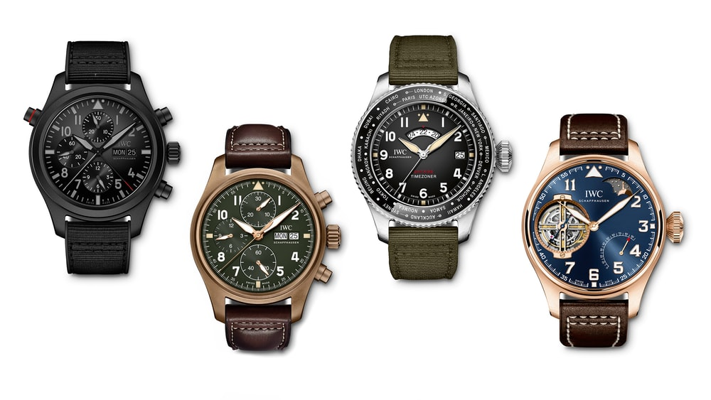 Introducing Four New Pilot's Watches From IWC's SIHH 2019 Line-Up