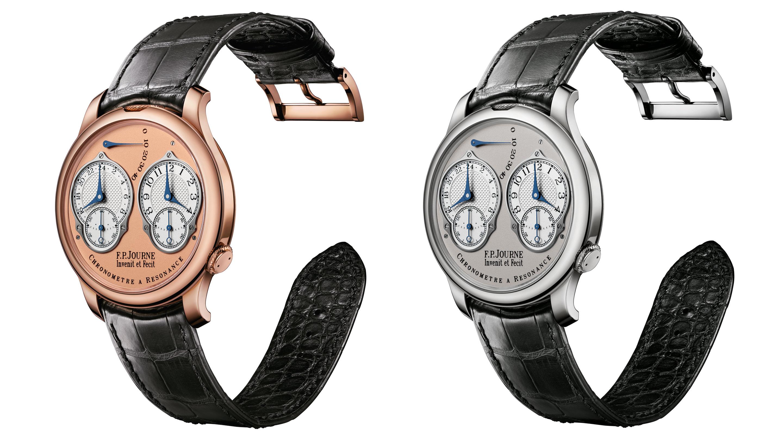 F.P.ジュルヌ 20周年を迎えたクロノメーター・レゾナンスが24時間計を搭載してリリースされました!