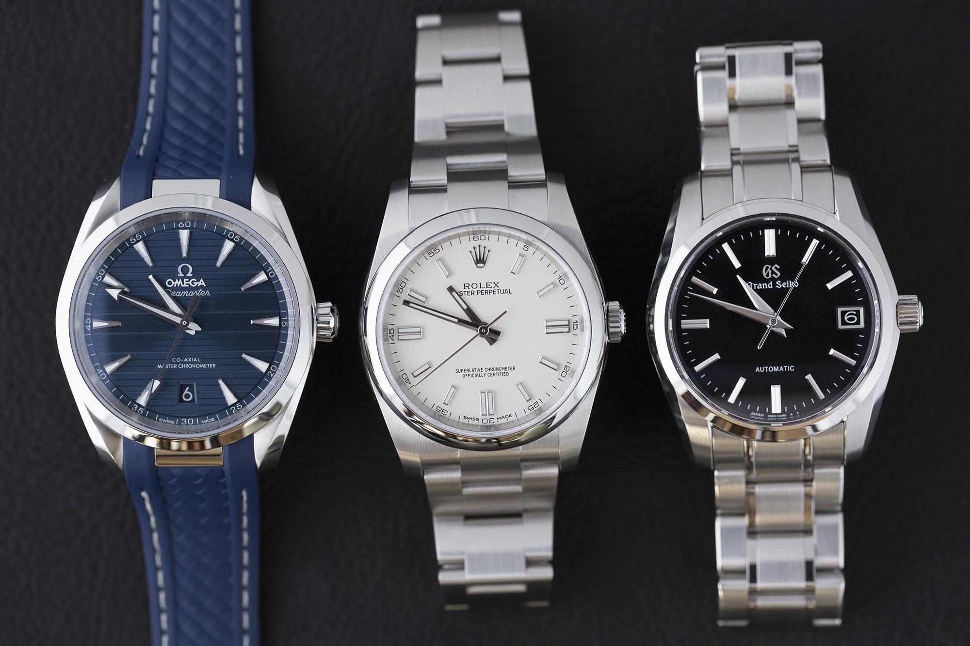 腕時計初心者が選ぶべき腕時計3選