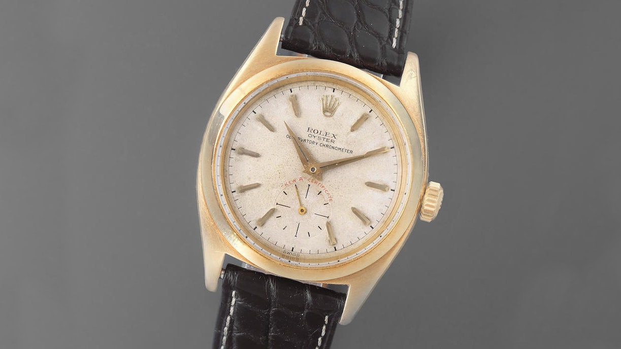 Auction Report: Two Rolex Kew A Chronometers Are For Sale This Week At Bonhams