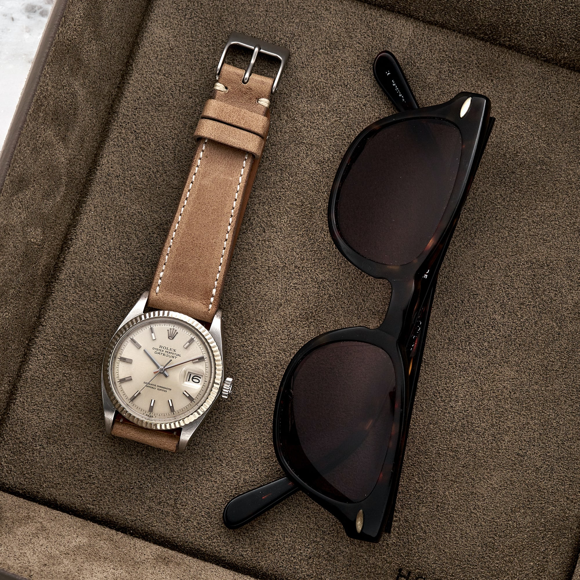 75319e15d3a The Davenport Strap in Tan has been one of my personal favorites to wear.  The color is a nice neutral tan that can be styled with any watch