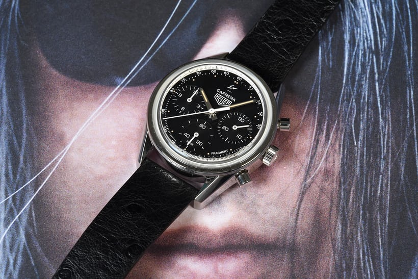 c32aa1a3 In-Depth: The TAG Heuer Carrera Heuer 02 By Fragment Design Hiroshi ...