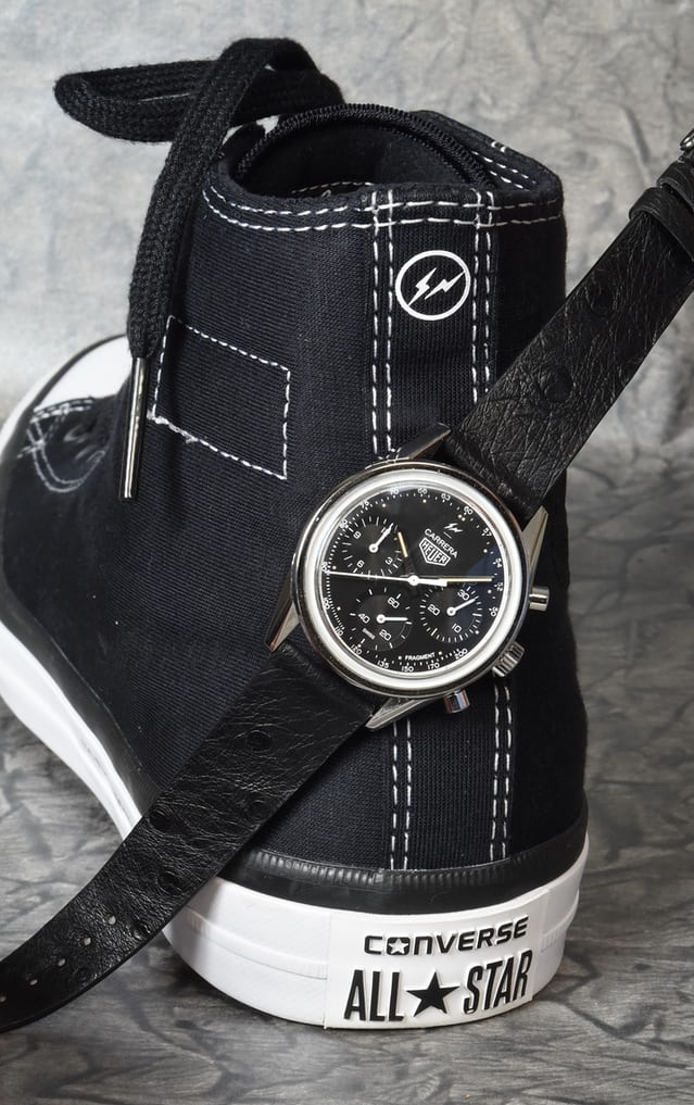 99407eea Beginning in the world of streetwear, the Fragment Carrera follows a  different course. A legendary designer selects a beautiful model from  Heuer's historic ...