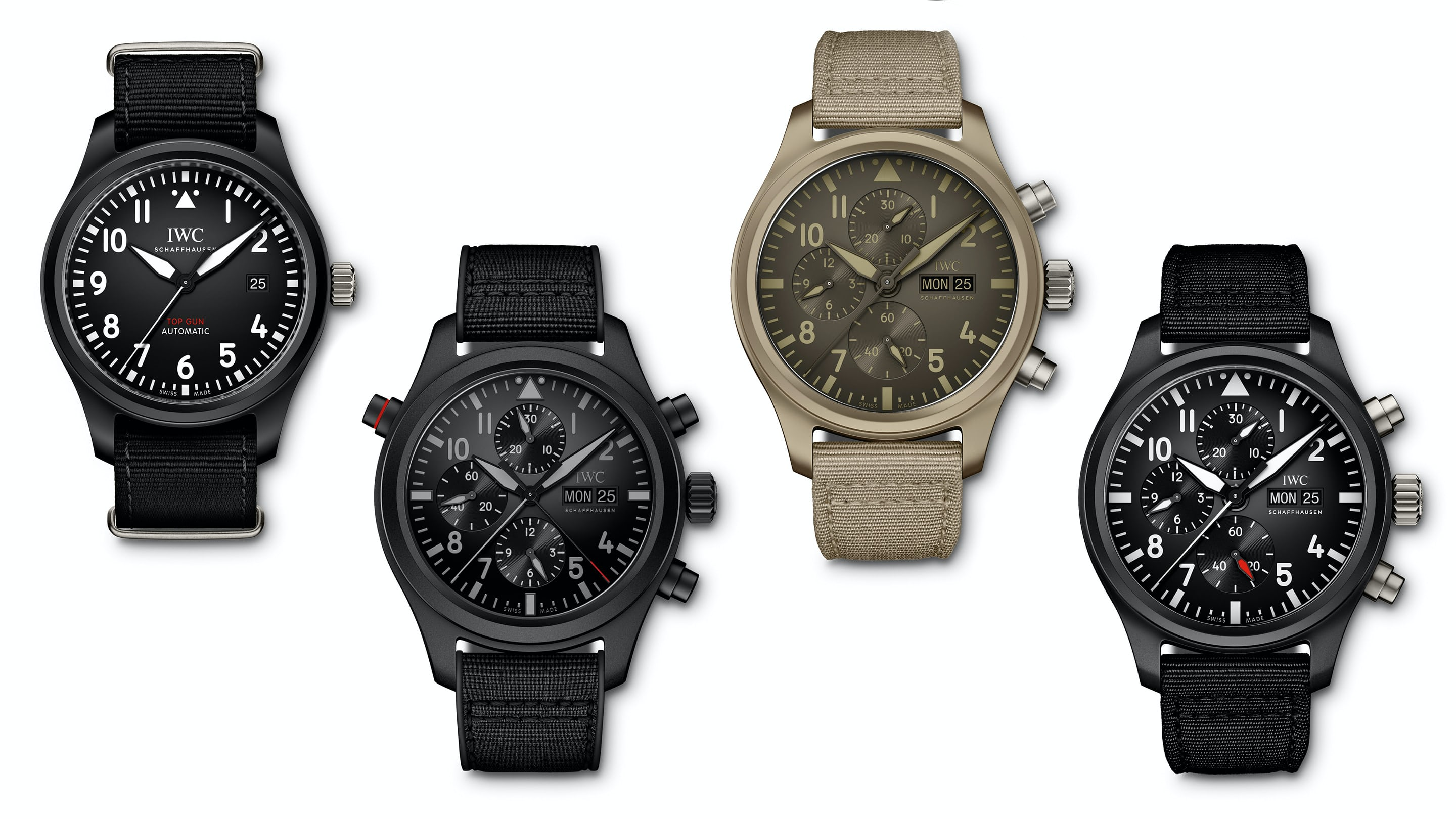 47f7e3e76d3 Introducing  Four New Additions To The IWC Pilot s Top Gun Collection -  HODINKEE