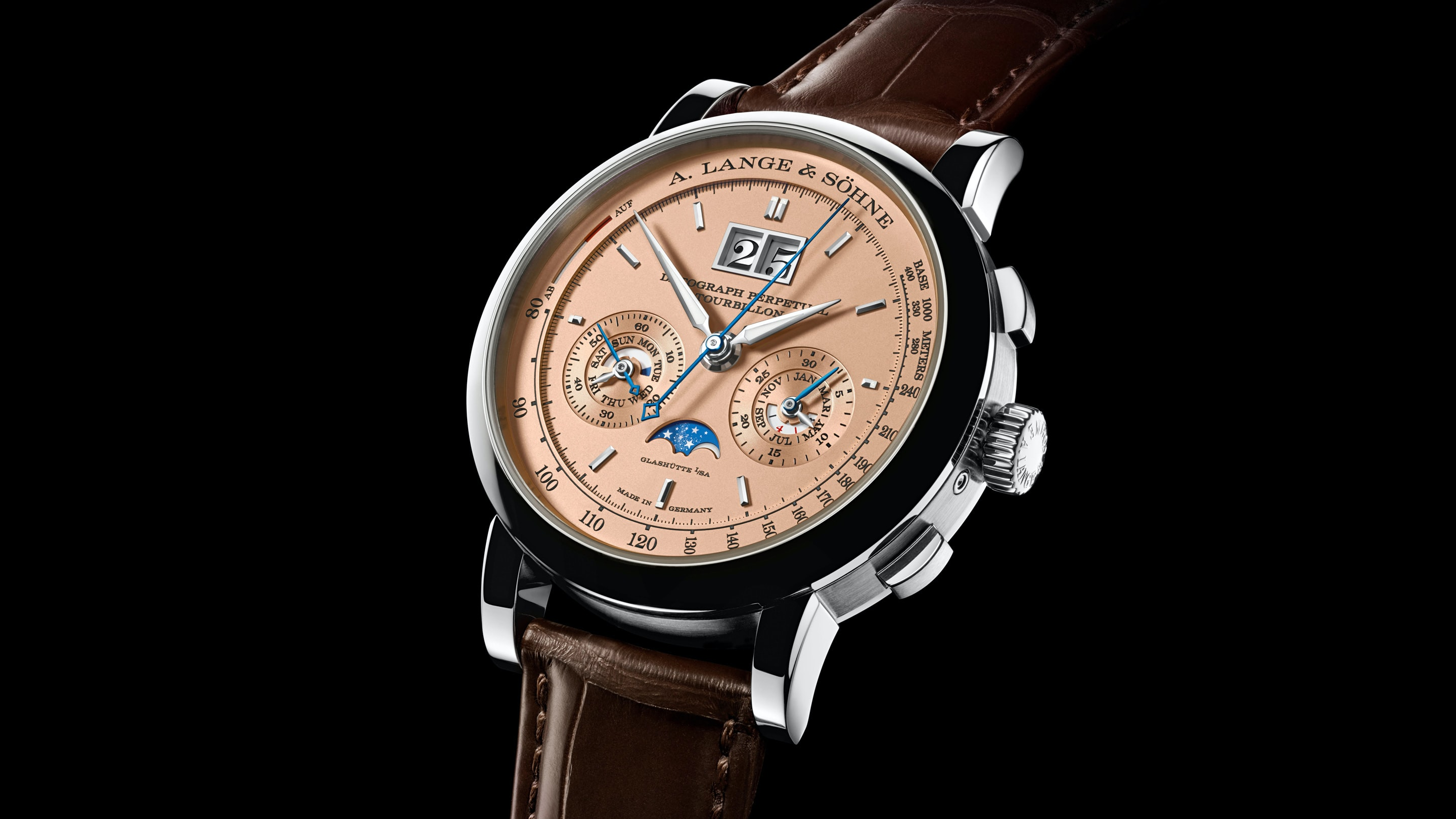 Introducing: The A. Lange & Söhne Datograph Perpetual Tourbillon With Salmon Dial