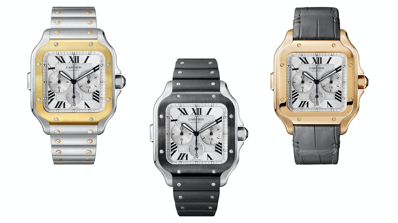 Introducing: The Cartier Santos Chronograph