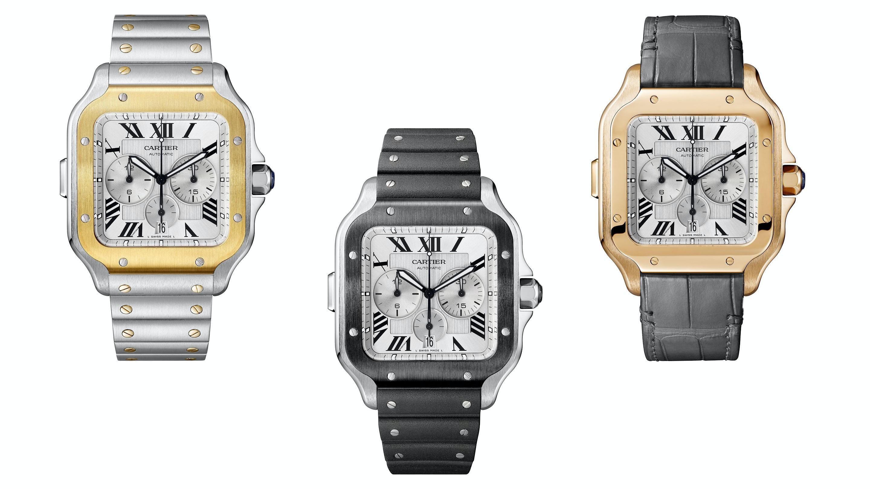 dddf85bac5428 Introducing  The Cartier Santos Chronograph - HODINKEE
