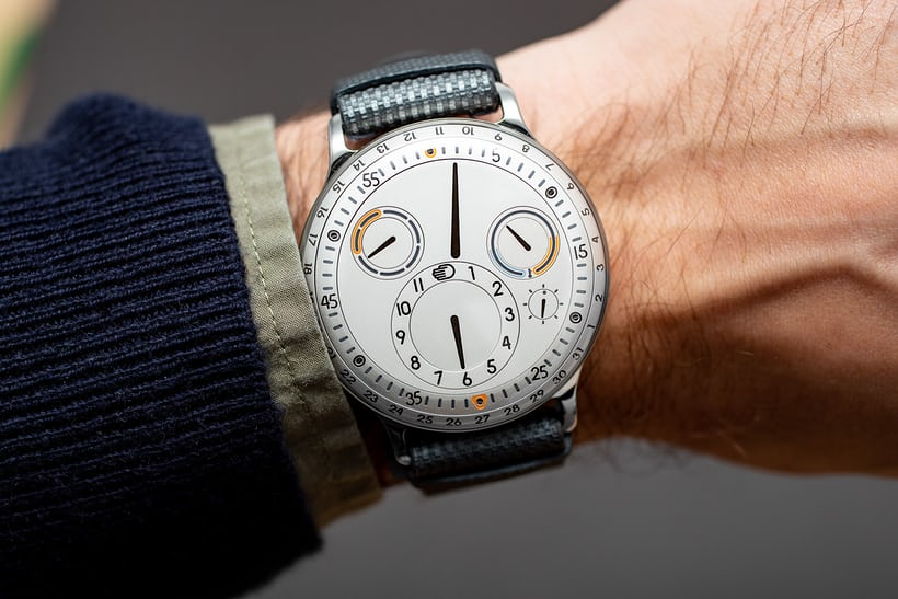 Ressence Type 3 >> Hands On The Ressence Type 3w Hodinkee