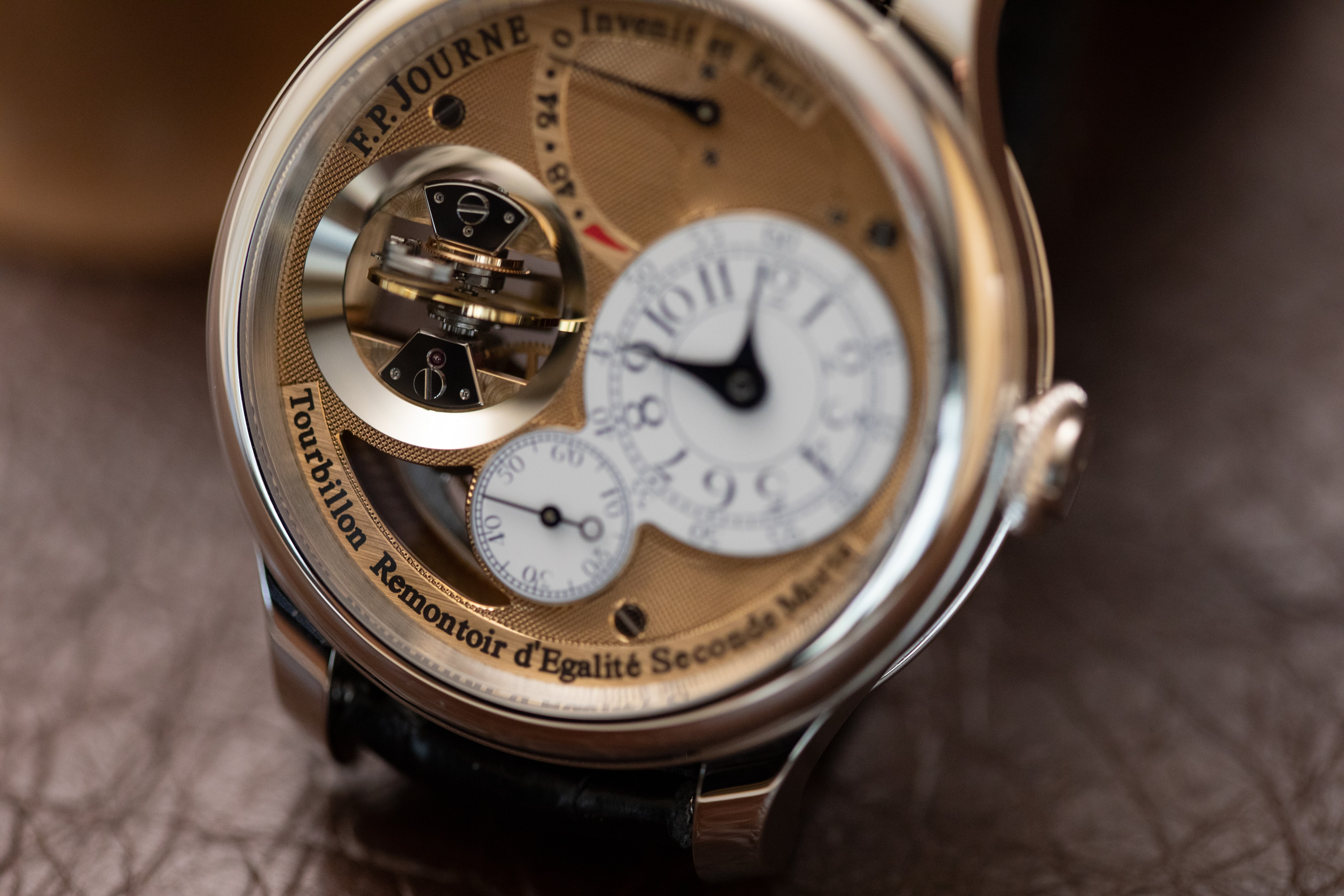 F. P. Journe Tourbillon Souverain Vertical