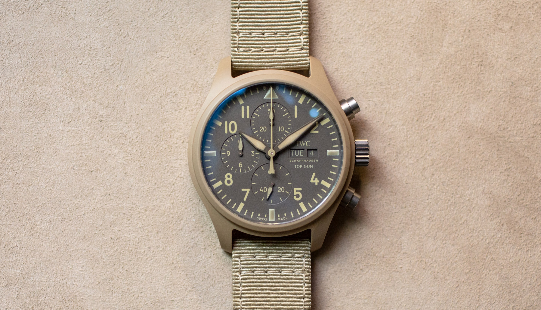 Hands-On: The IWC Pilot's Watch Chronograph Top Gun Edition 'Mojave Desert'