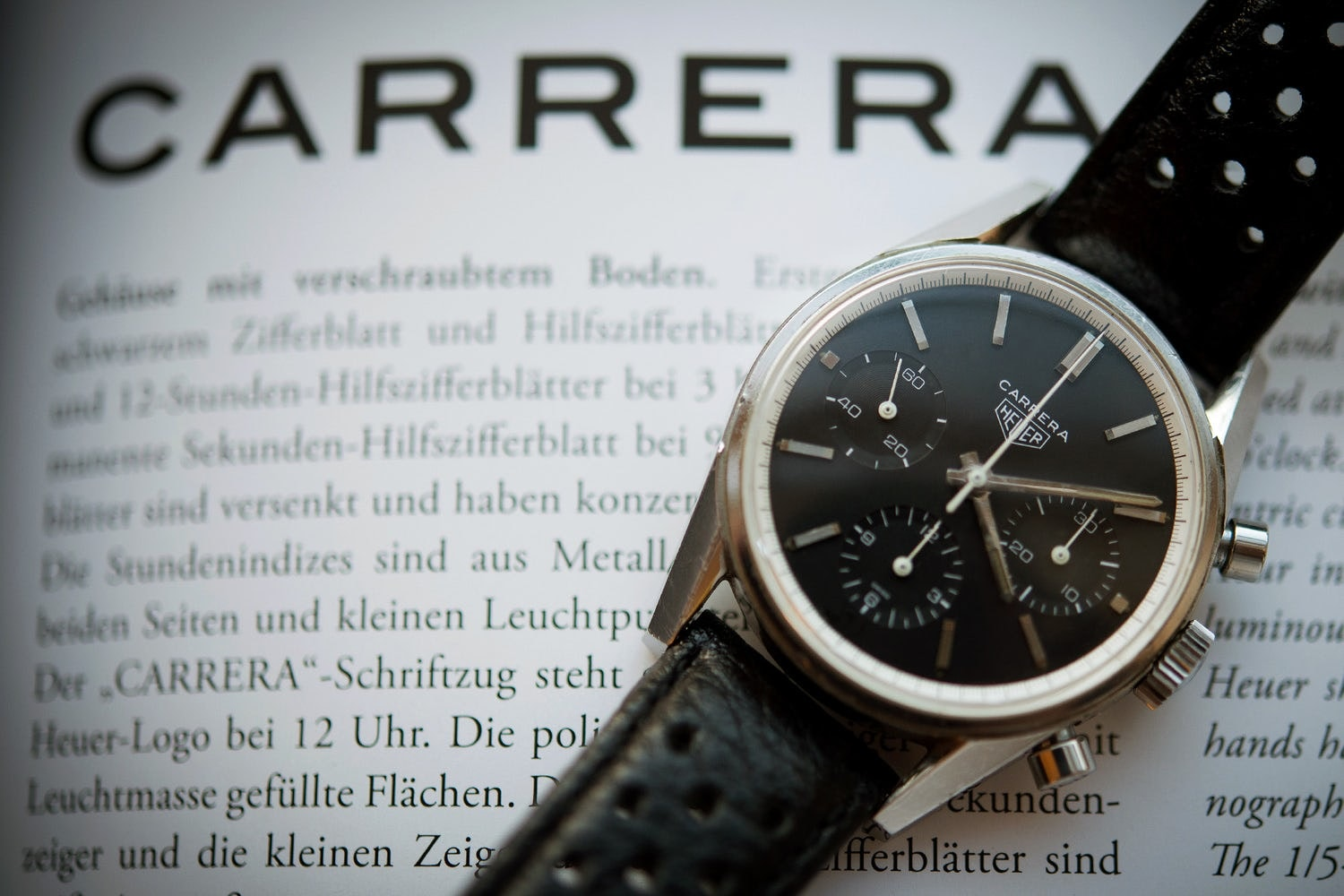 Sunday Rewind: Everything You Need To Know About The Very First Heuer Carrera