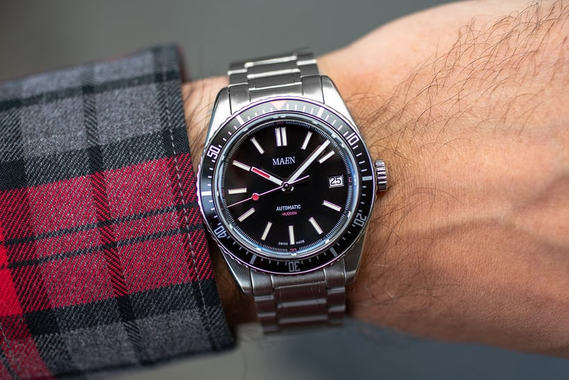 904a5b592a2d Hands-On  The Maen Hudson 38 Automatic - HODINKEE